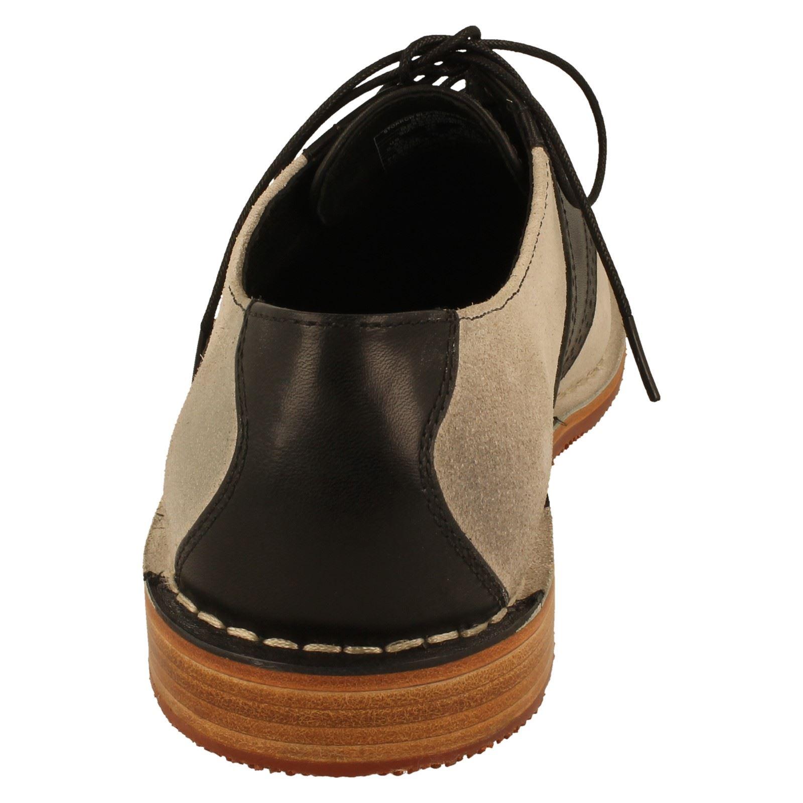 Sebago off w Label Uomo scarpe bianca nero Storrow Formal dqgxPwSB