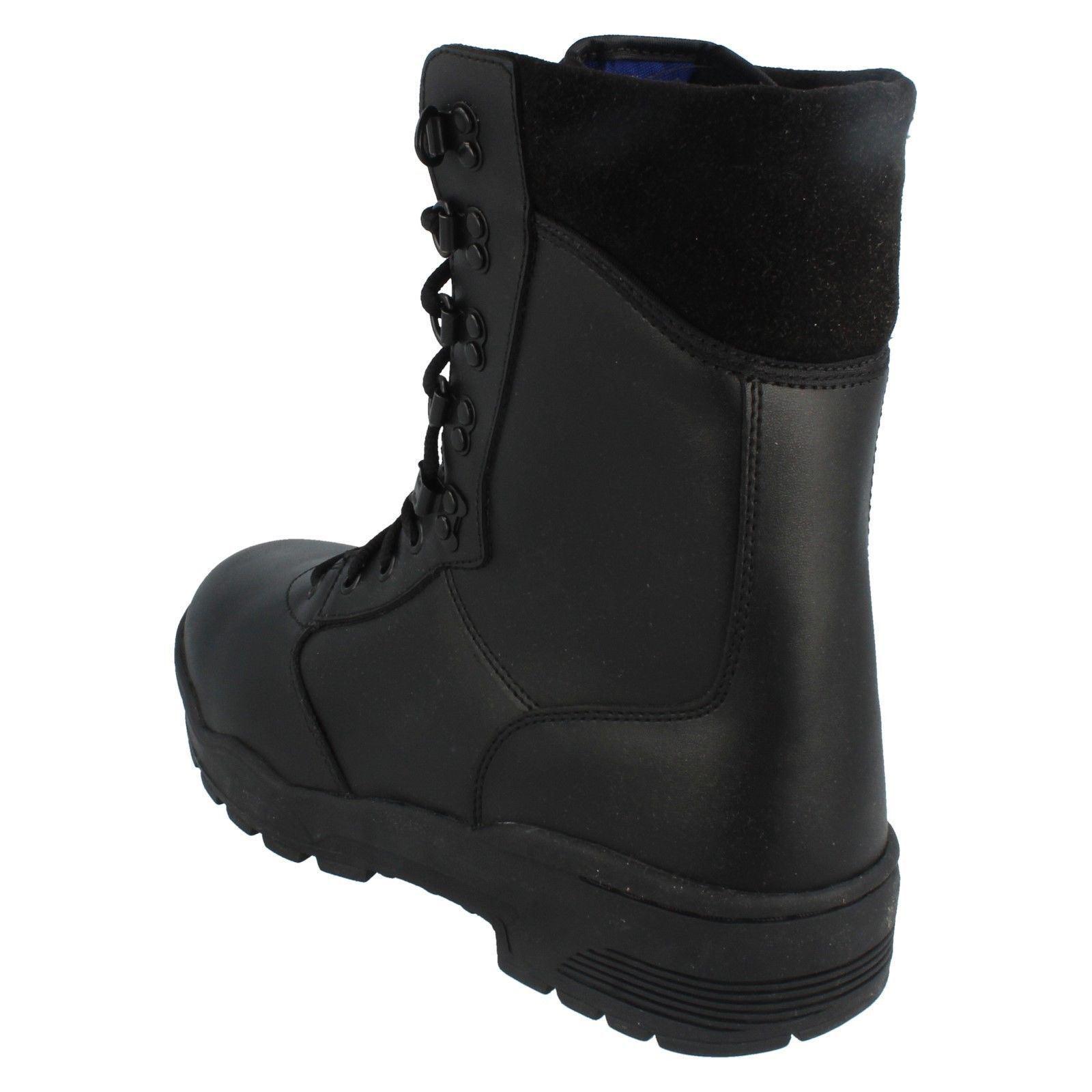 Men's Magnum Safety Boots 'Leather Magnum CEN' Label ~ K