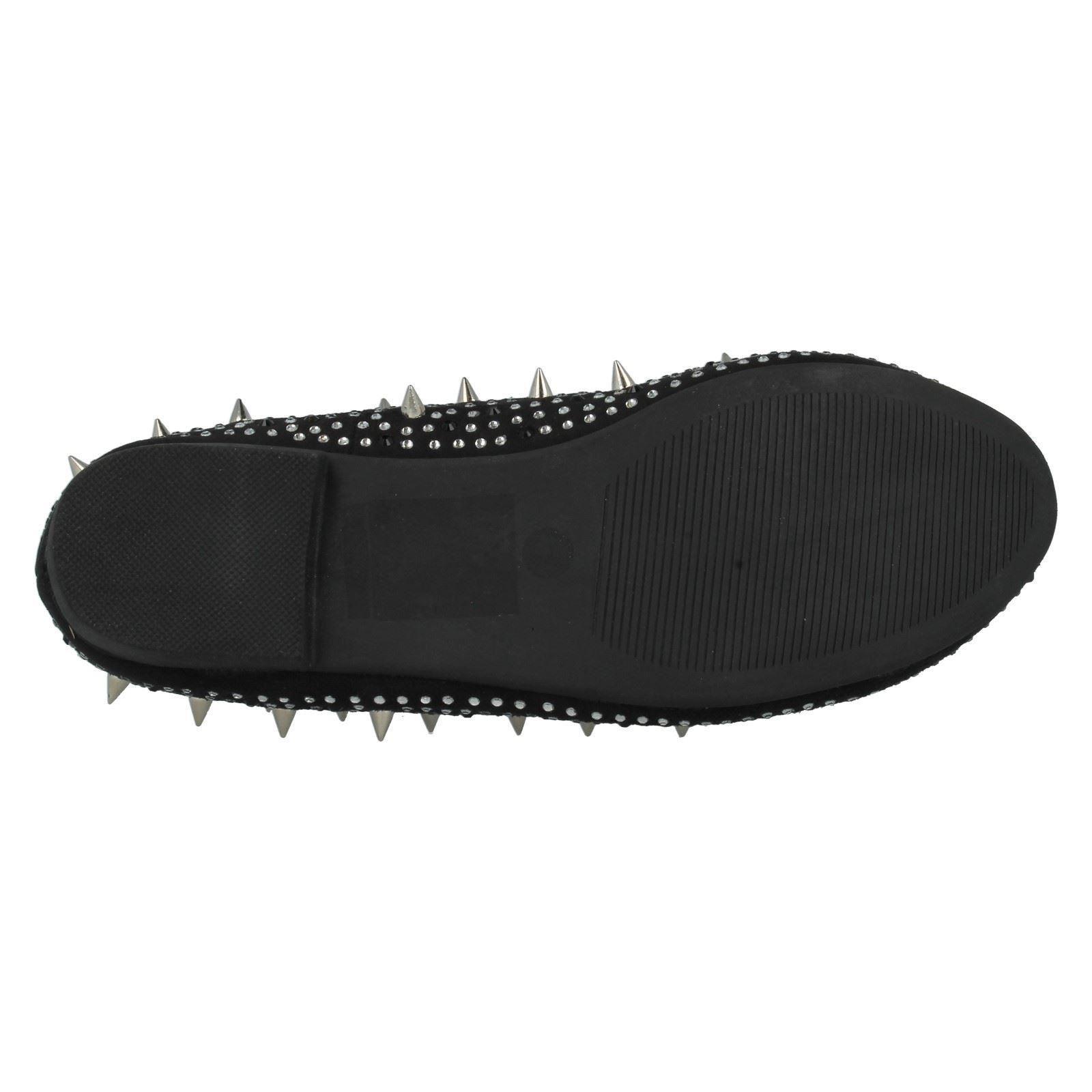 Señoras Anne Michelle Zapatos Planos el estilo-l4938