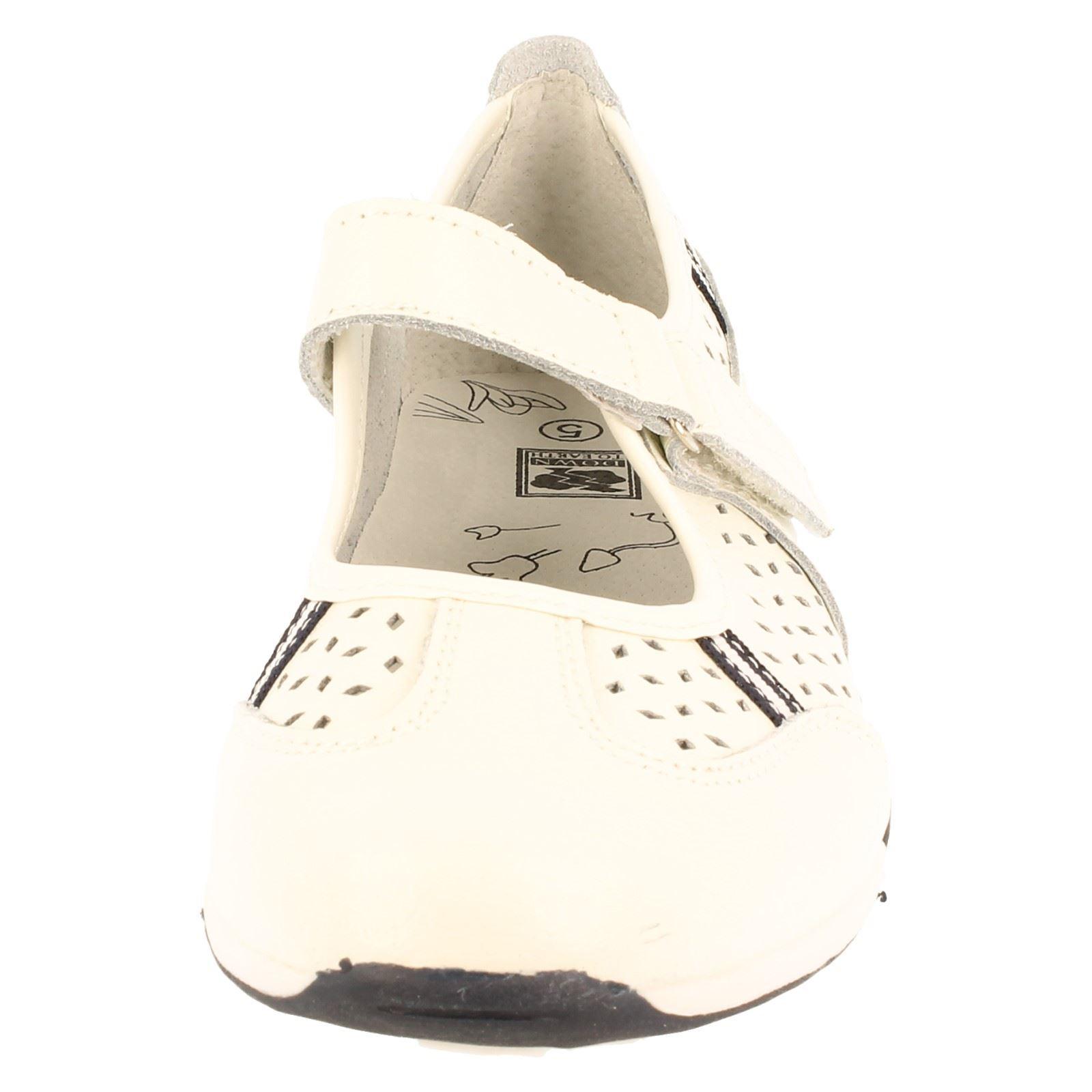 Señoras Down to Earth Informal Zapatos Etiqueta F80066-W