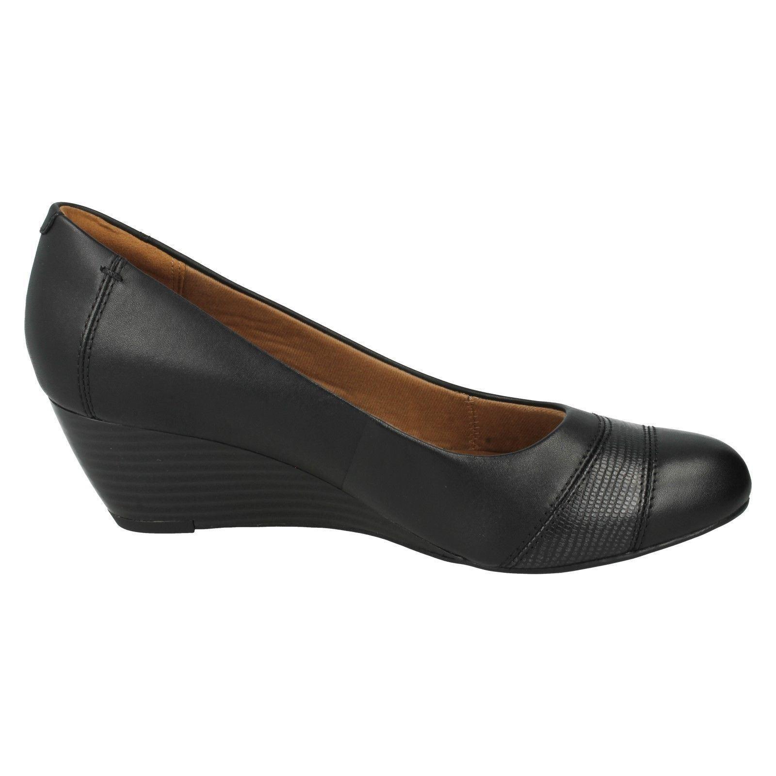clarks smart wedge heeled shoes brielle tacha k