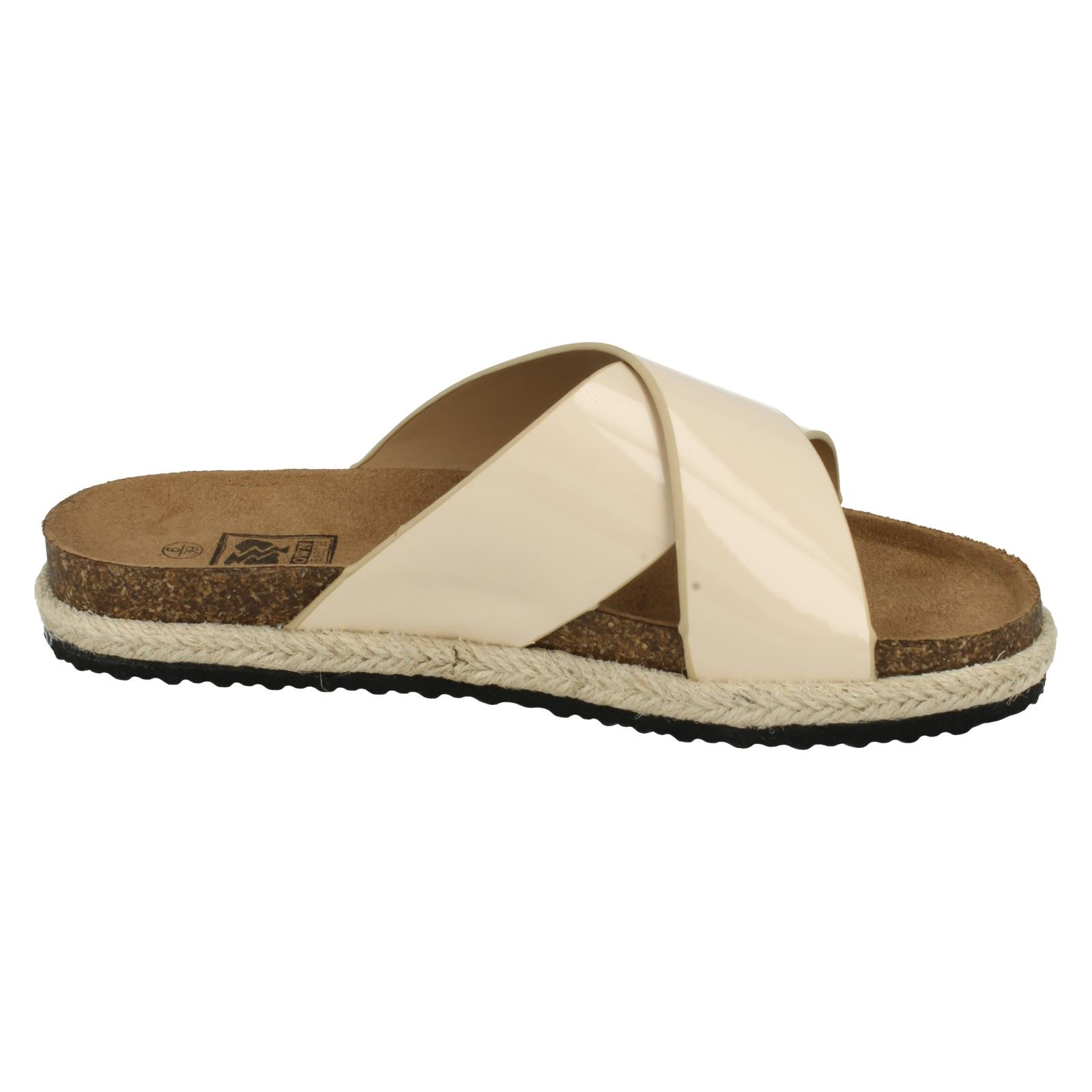 Señoras Down to Earth Sandalias De Estilo-F00044