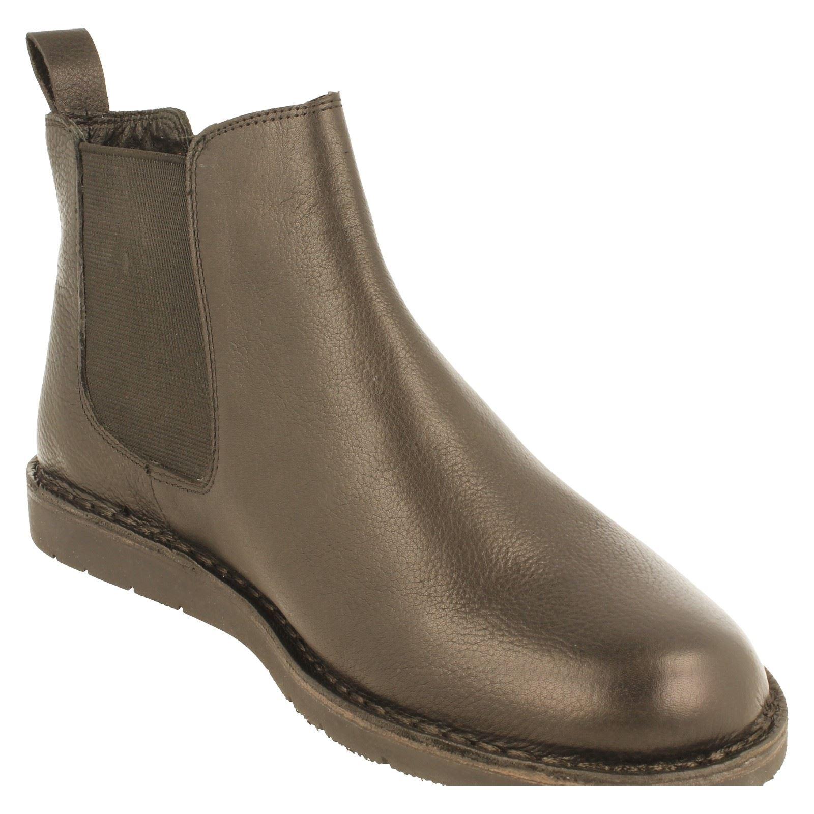 Mens Padders Boot Wide Fitting Leder Chelsea Boot Padders Style - Jez d66579