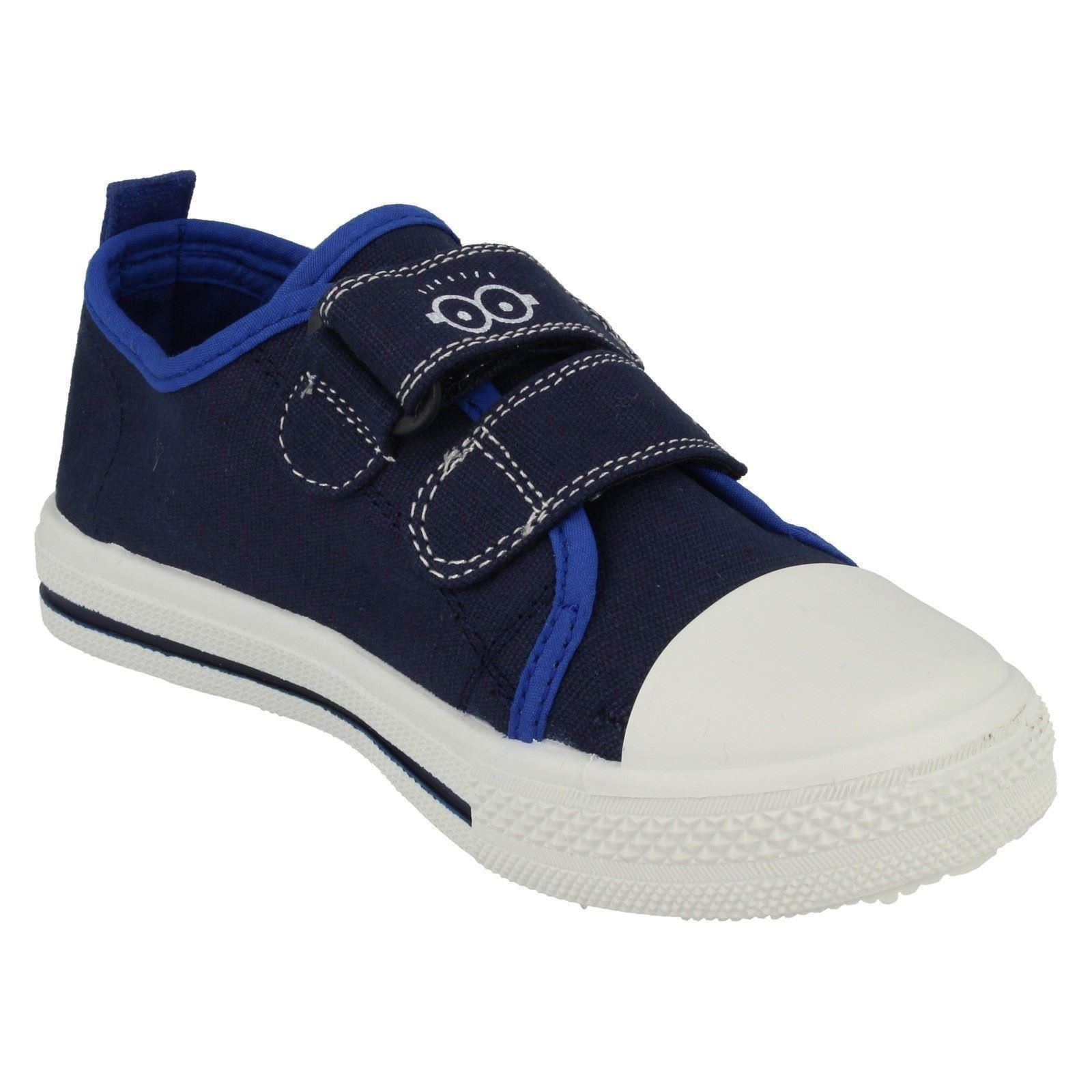 Zapatillas lona niños Minion Etiqueta ronskley bajo