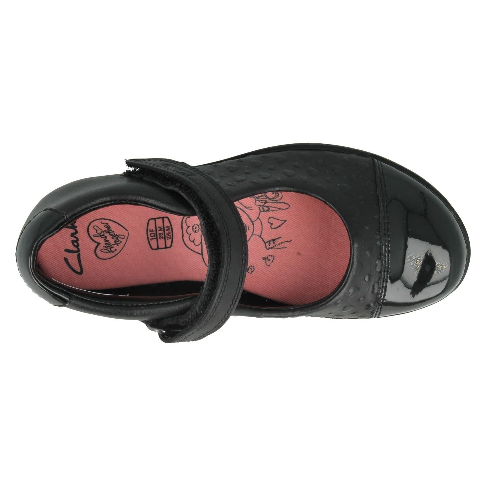 Girls Clarks School Shoes Label Friendplay