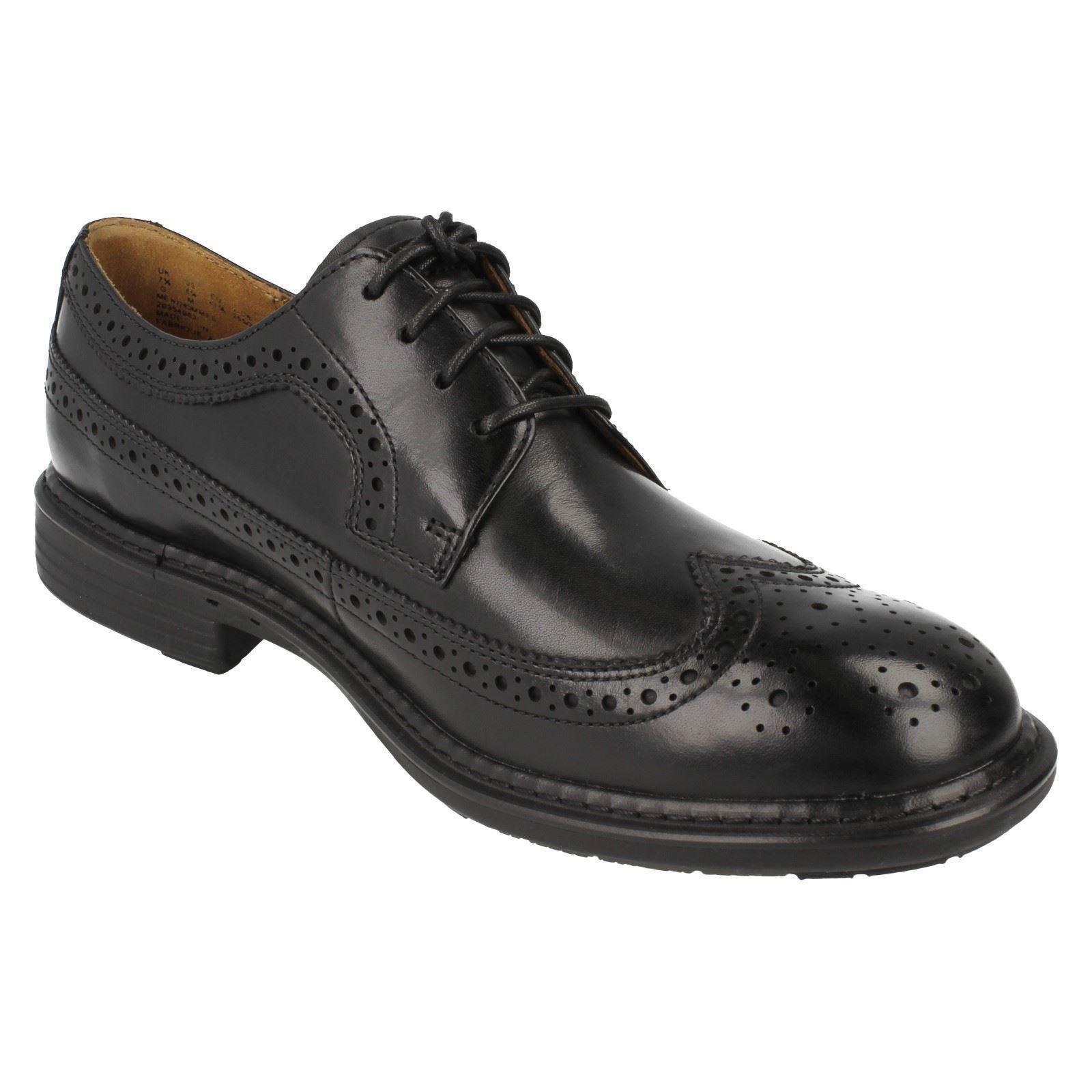 Men's Black Formal Shoes Clarks LabelUn Limit xordCeB