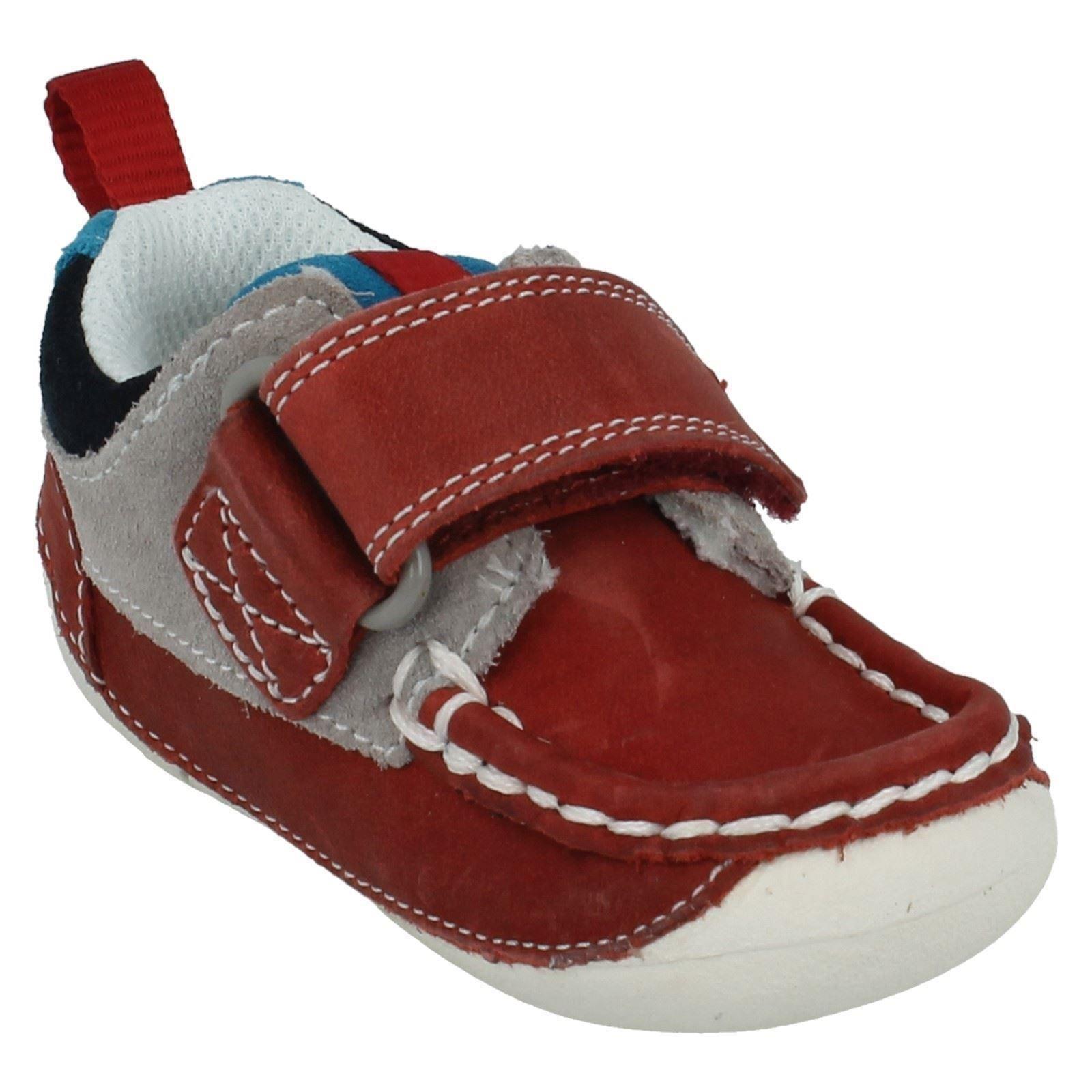 Boys Clarks First Shoes Cruiser Deck