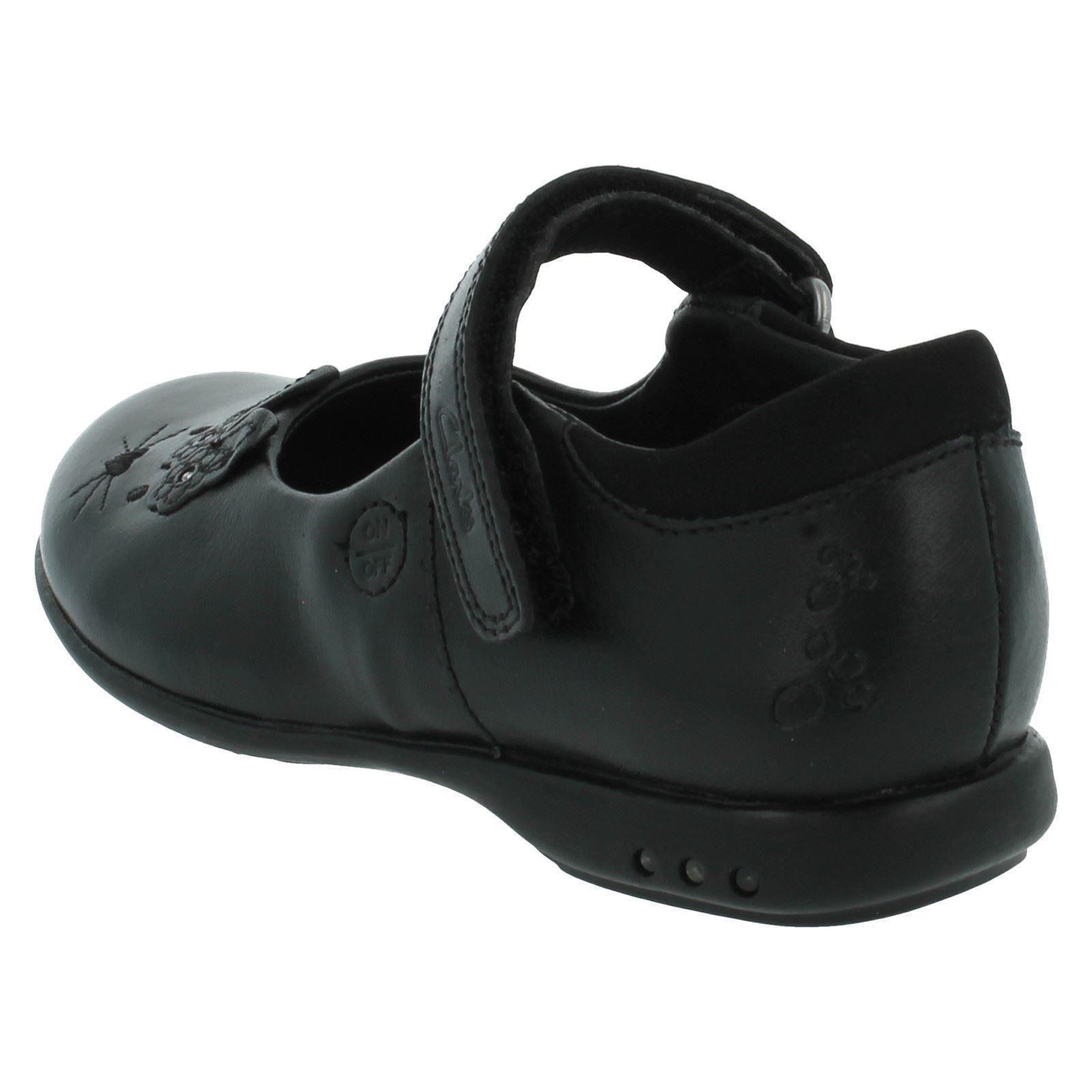 Girls Clarks School Shoes Trixi Run Style ~ K