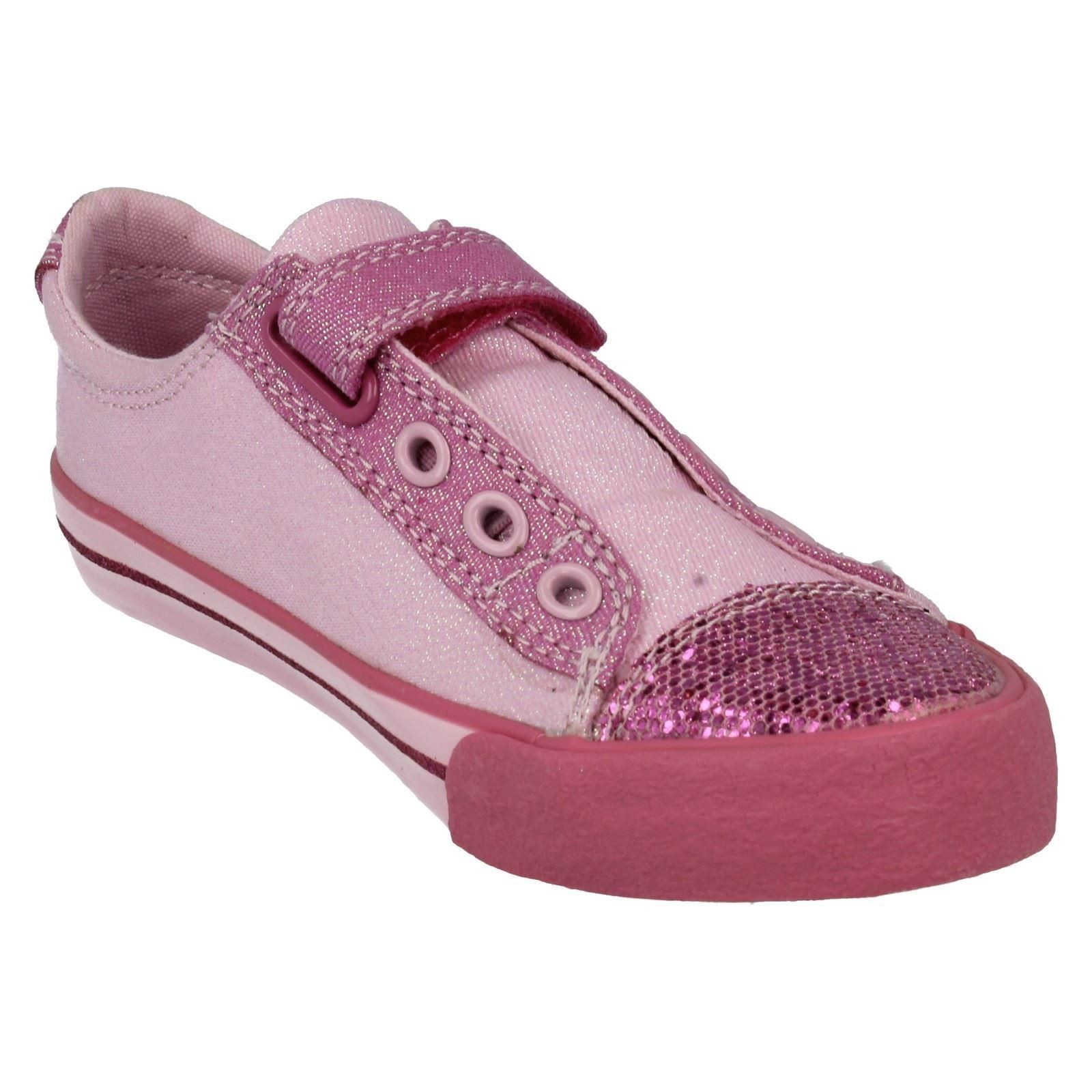 Girls Clarks Doodles Shoes - Glitterbe Inf