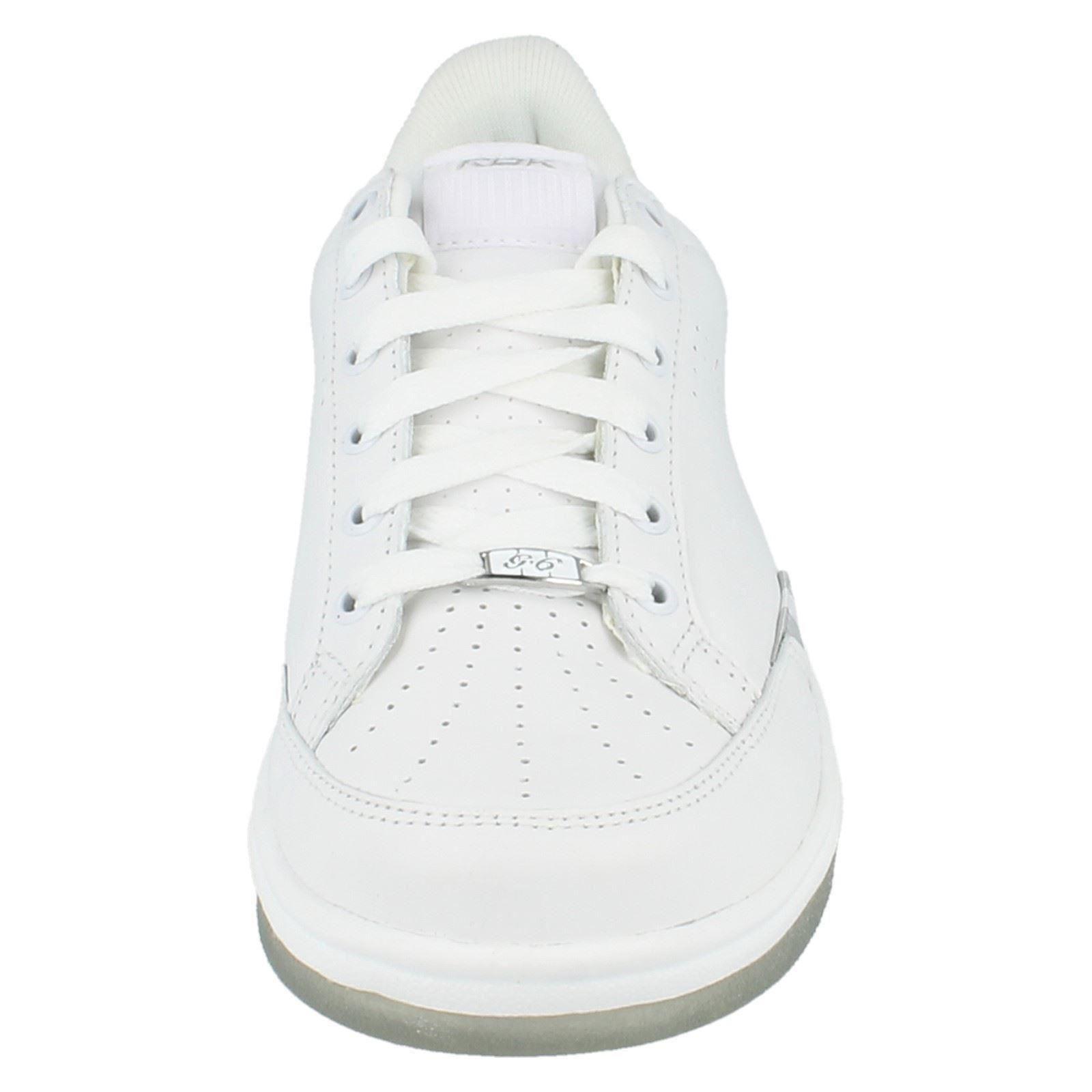 Trainers G6 Reebok White Womens Label Silver 4wgqxU5