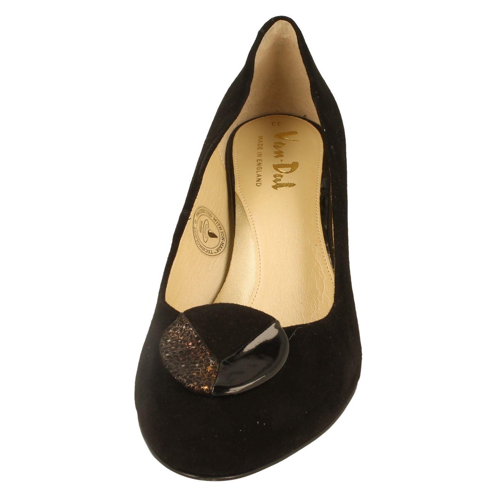 Hapton Ladies Style Dal Black The Shoes Van w Suede Court rxqAx7YB