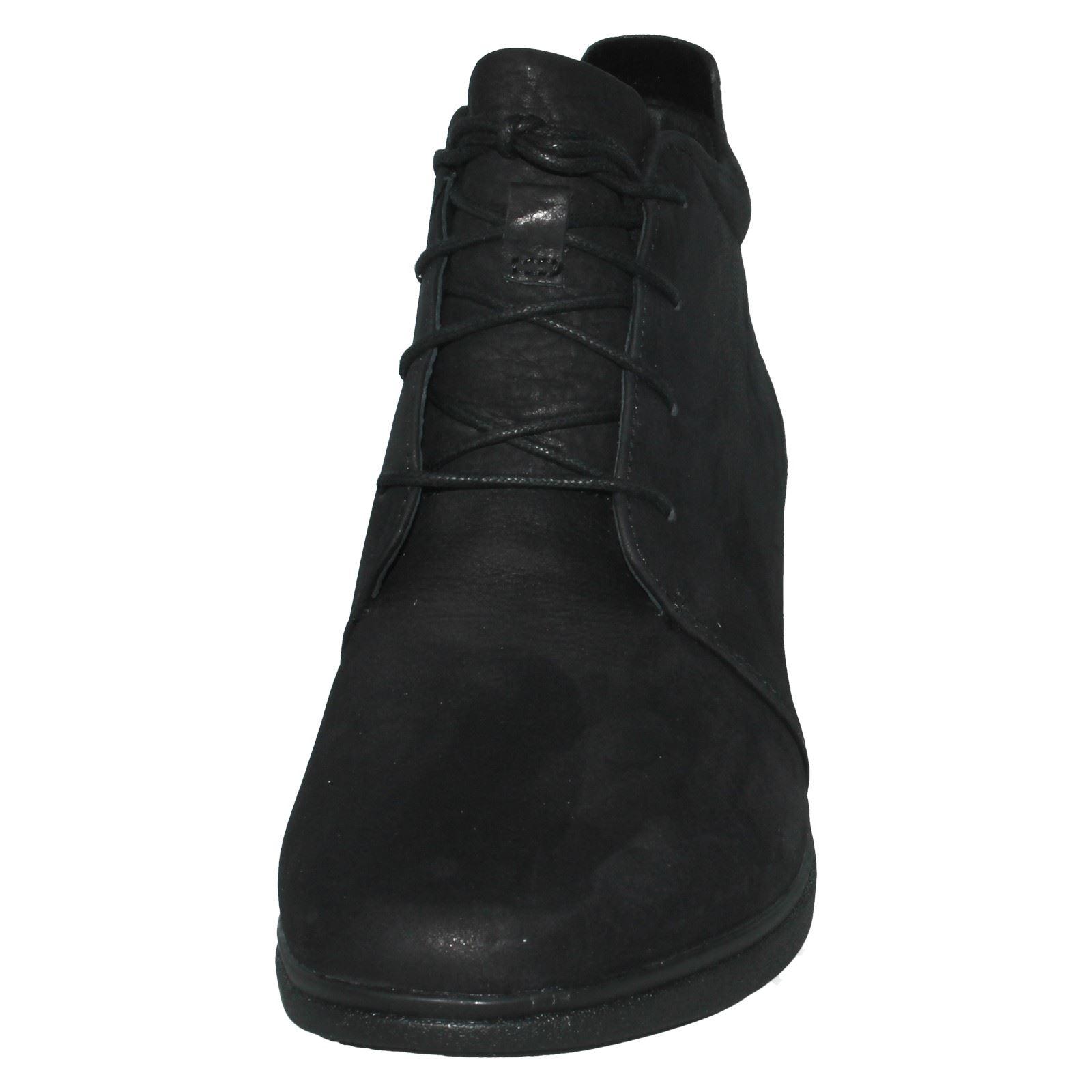 Señoras ENCAJE ENCAJE ENCAJE no estructurados por Clarks Informal botas al tobillo un tallara Eva e56039