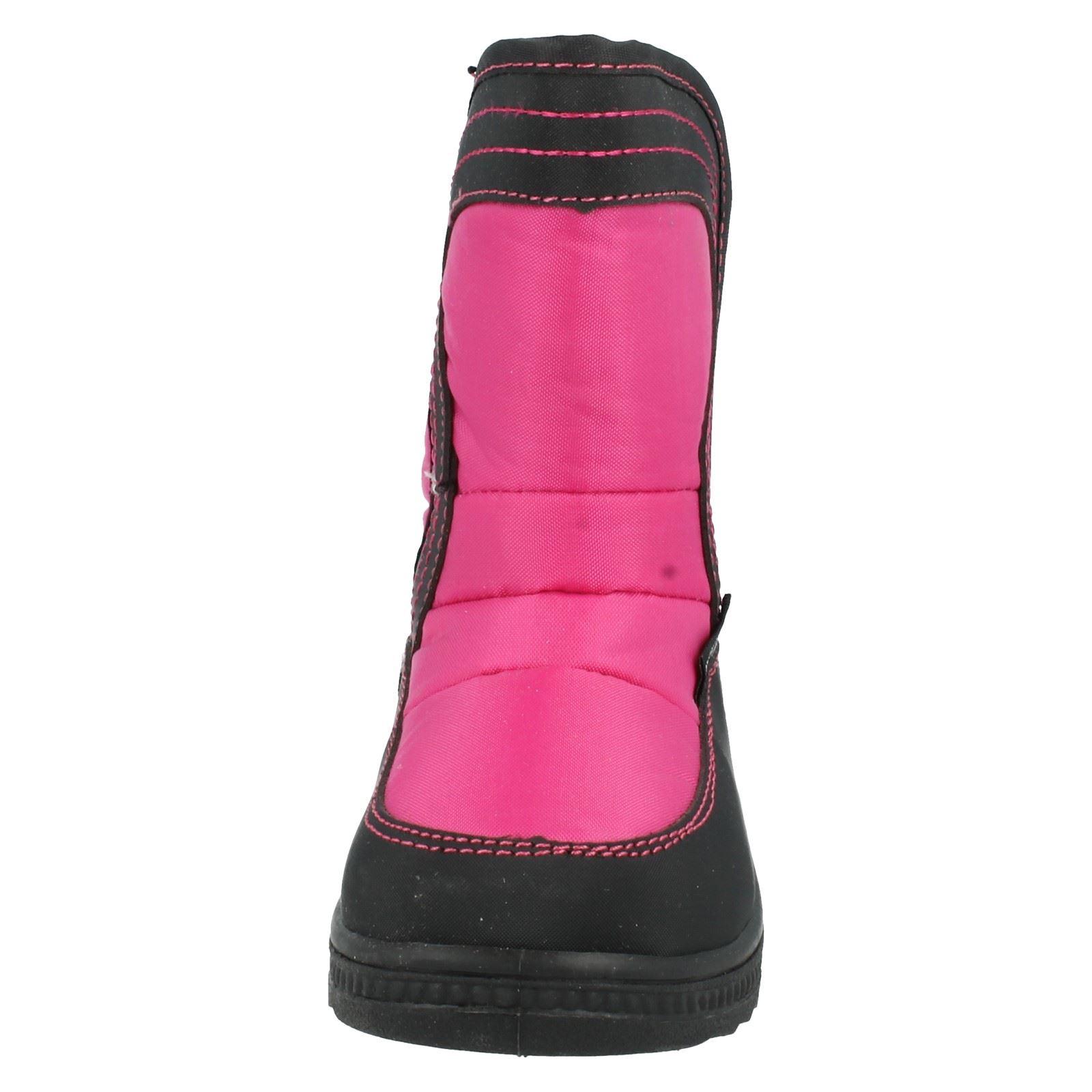 Girls Reflex Snow Boots Label H4072