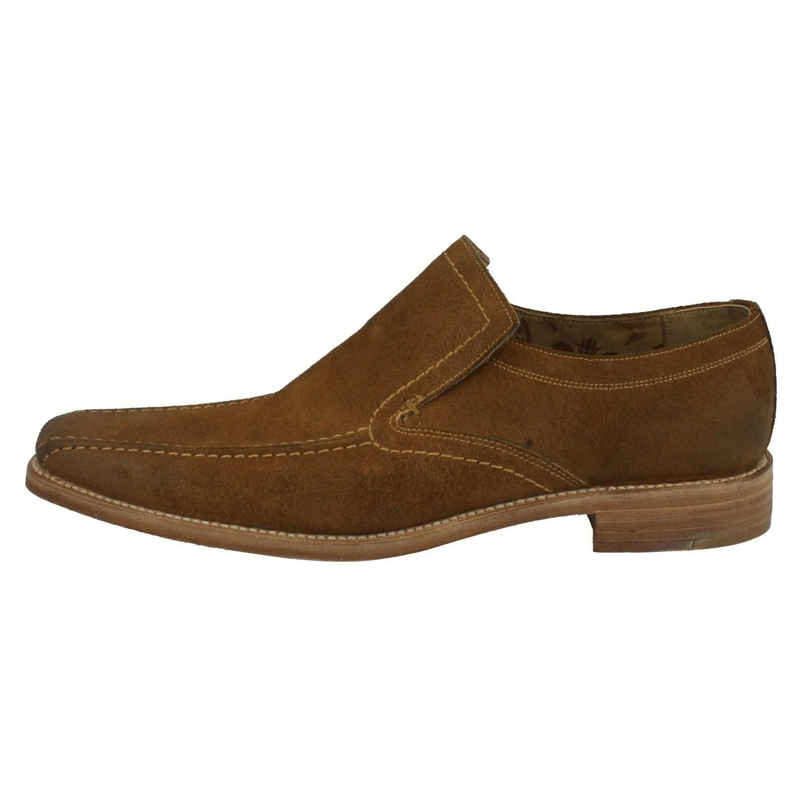 Uomo Loake Formal Suede F Fitting Schuhes the Style - Leon 362c4b