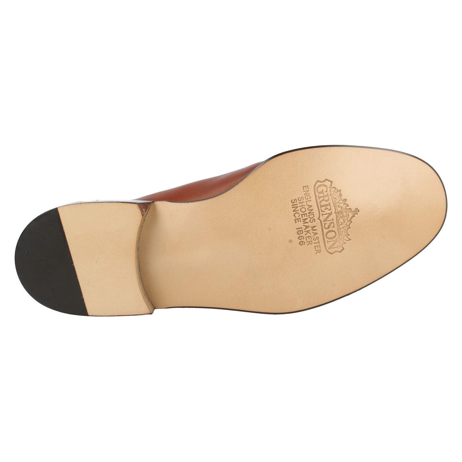 Mens Grenson True True True Moccasin Shoes Evan Label 9646 267e48