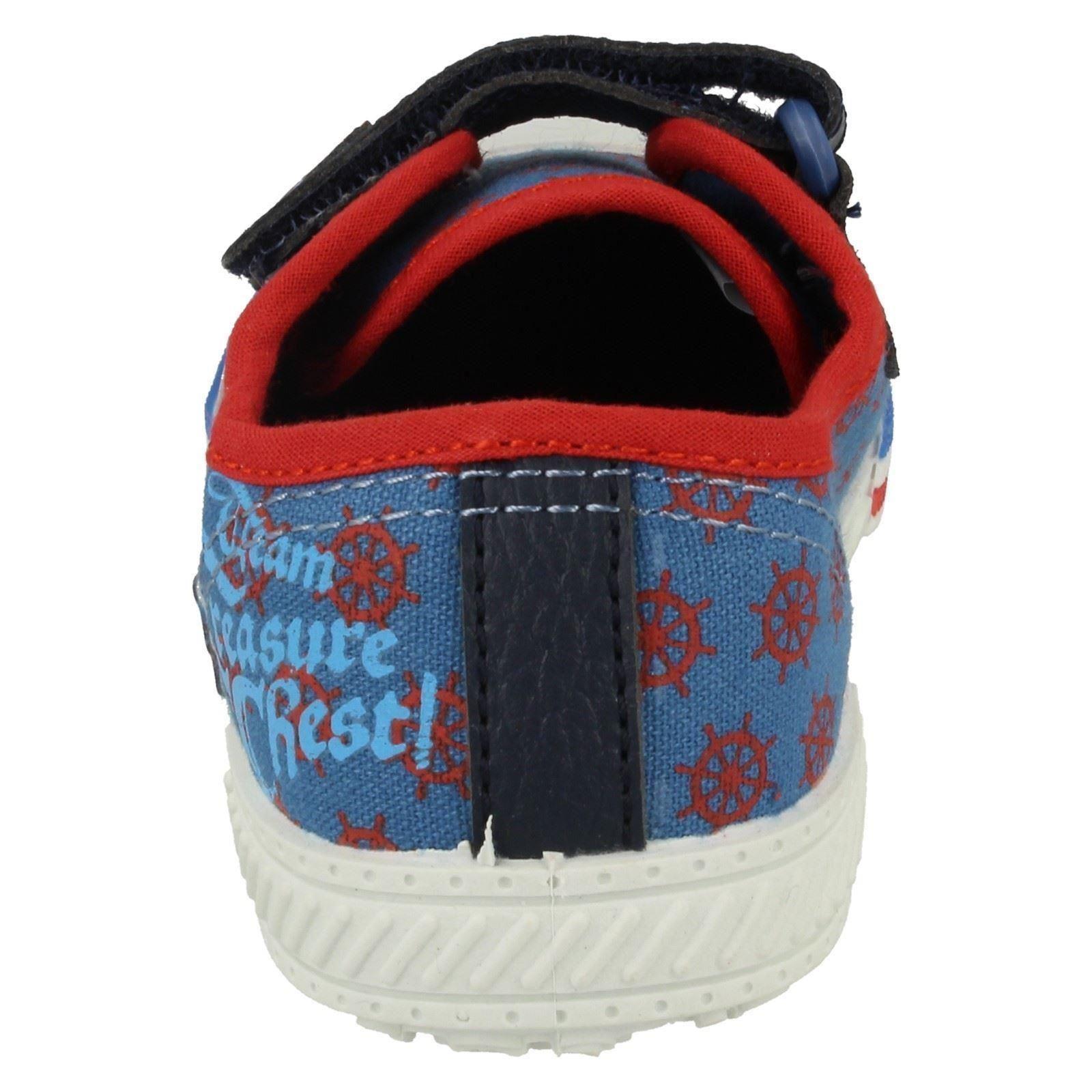 Chicos Disneys Zapatos De Lona Estilo-Jake Tesoro De Lona