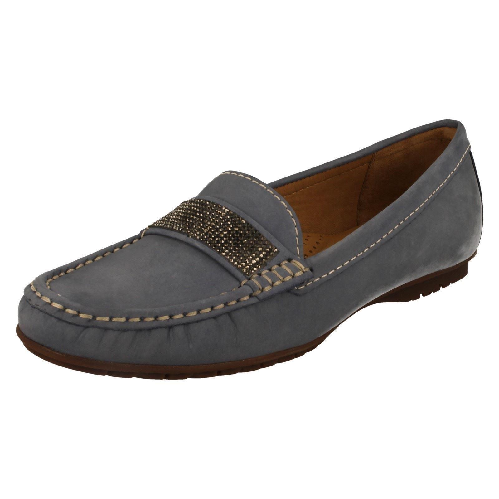 Descuento de la marca tiempo Descuento por tiempo marca limitado Ladies Globo Moccasin Shoes Style Aintree -w 6eb90f