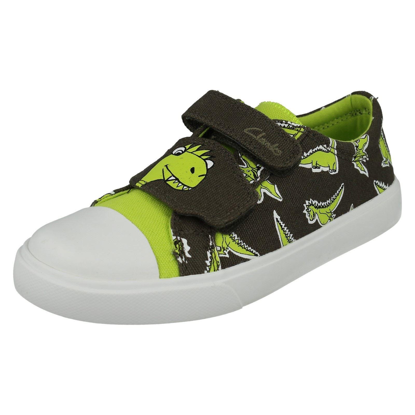 Boys Clarks Shoes Label Tricer Roar