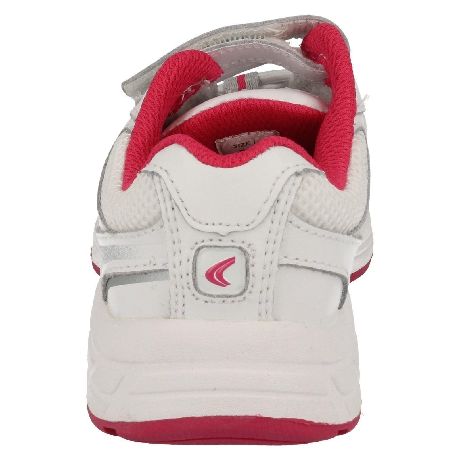 Girls Clarks Trainers Alert Style Jump-W