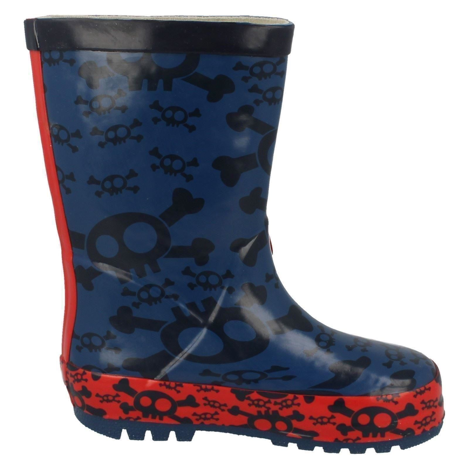 Chicos Wellingtons Pirata DISNEY Jake Y Los Neverland