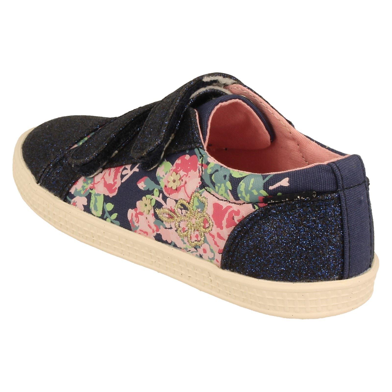 Girls Start Rite Canvas Shoes Edith -W