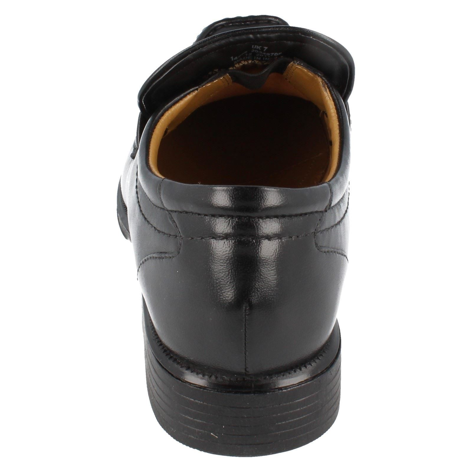 Uomo Clarks Slip Slip Slip On Shoes the Style Hoist Work ~ N de4891