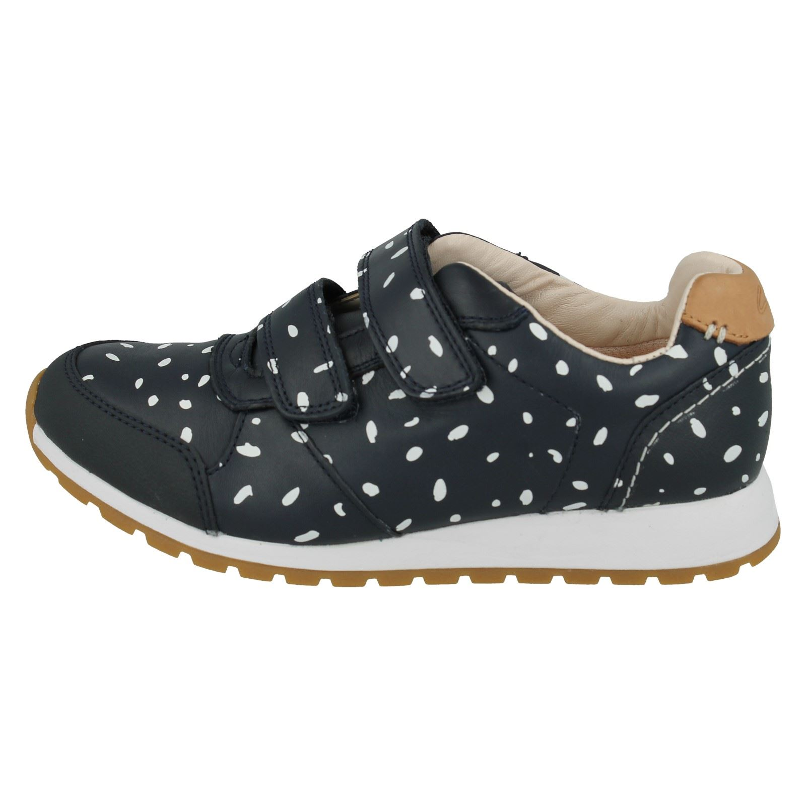 Girls Clarks Trainers Zest Max
