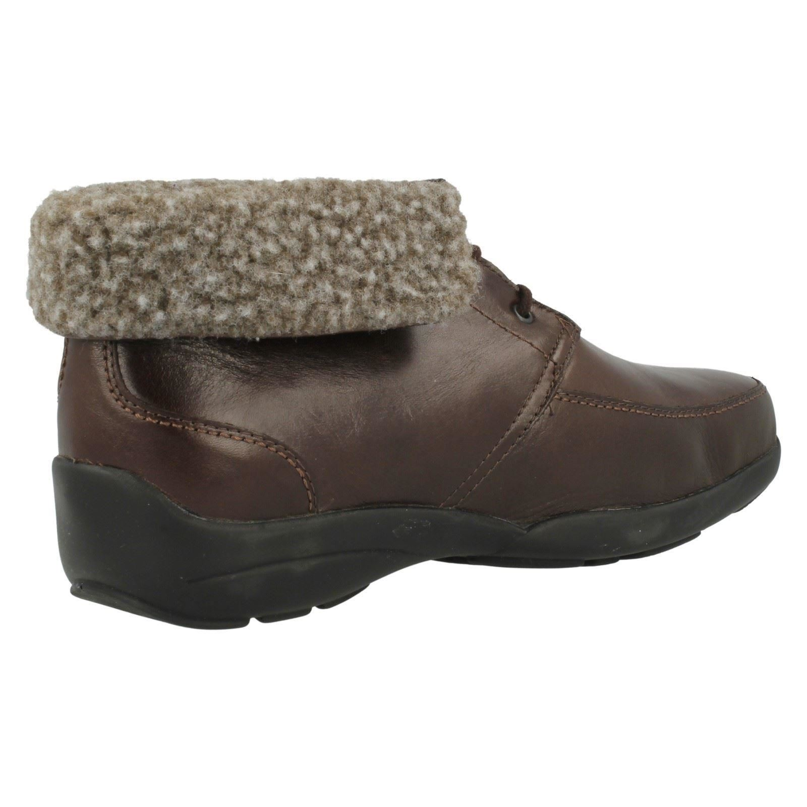 Style Lace Ladies Boot Bell B Vwnny8m0o Ankle Up ~ Brown Easy The N WEIHY9D2