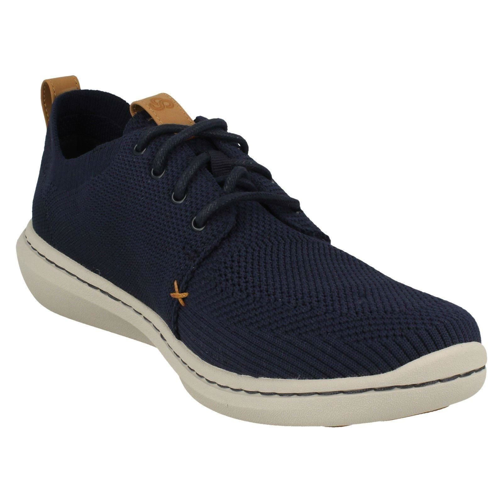 Mens Cloudsteppers by Clarks Lace Up Casual Trainers Label - Step Urban Mix