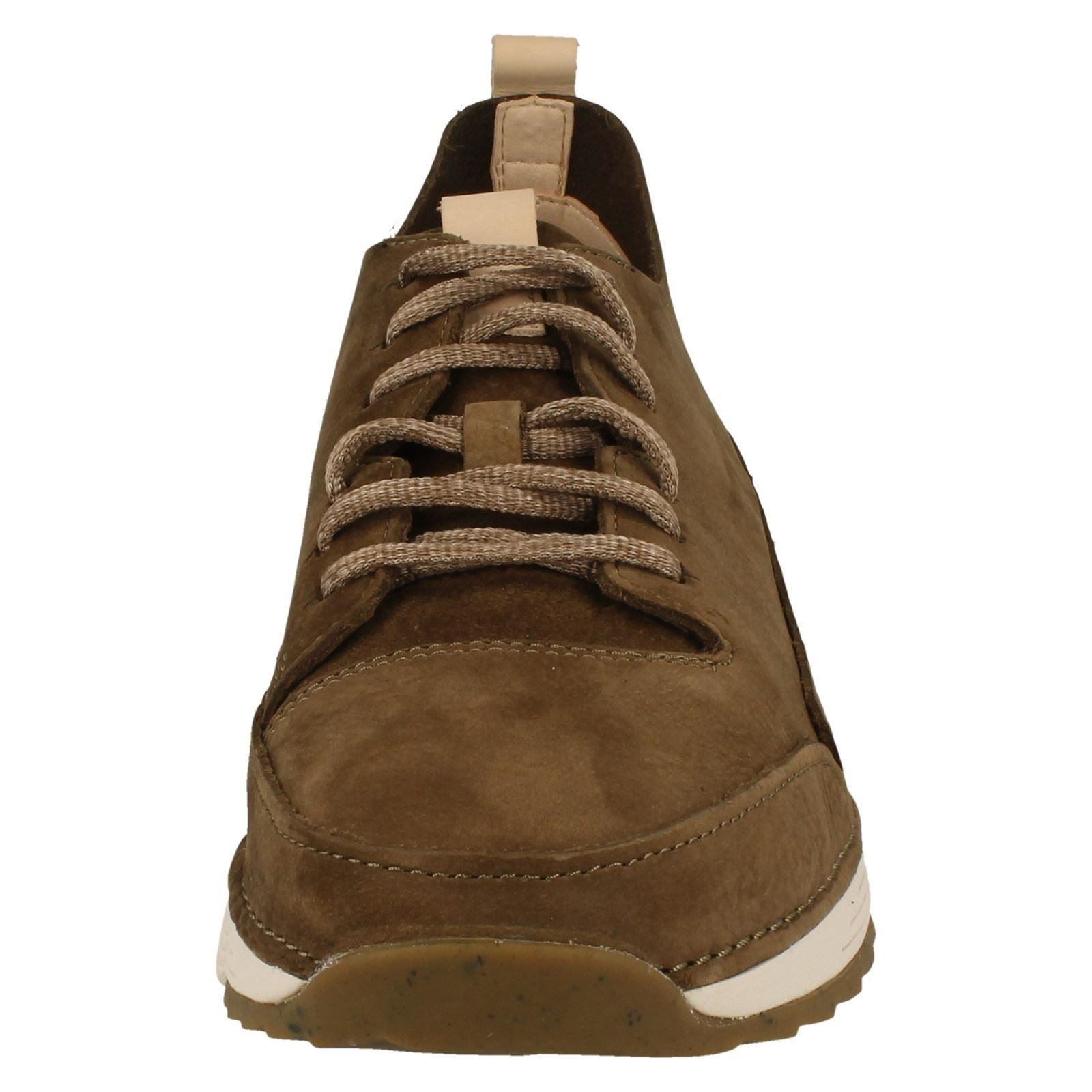 Mens Clarks Lace Up Casual Sports Trainers Tri Spark