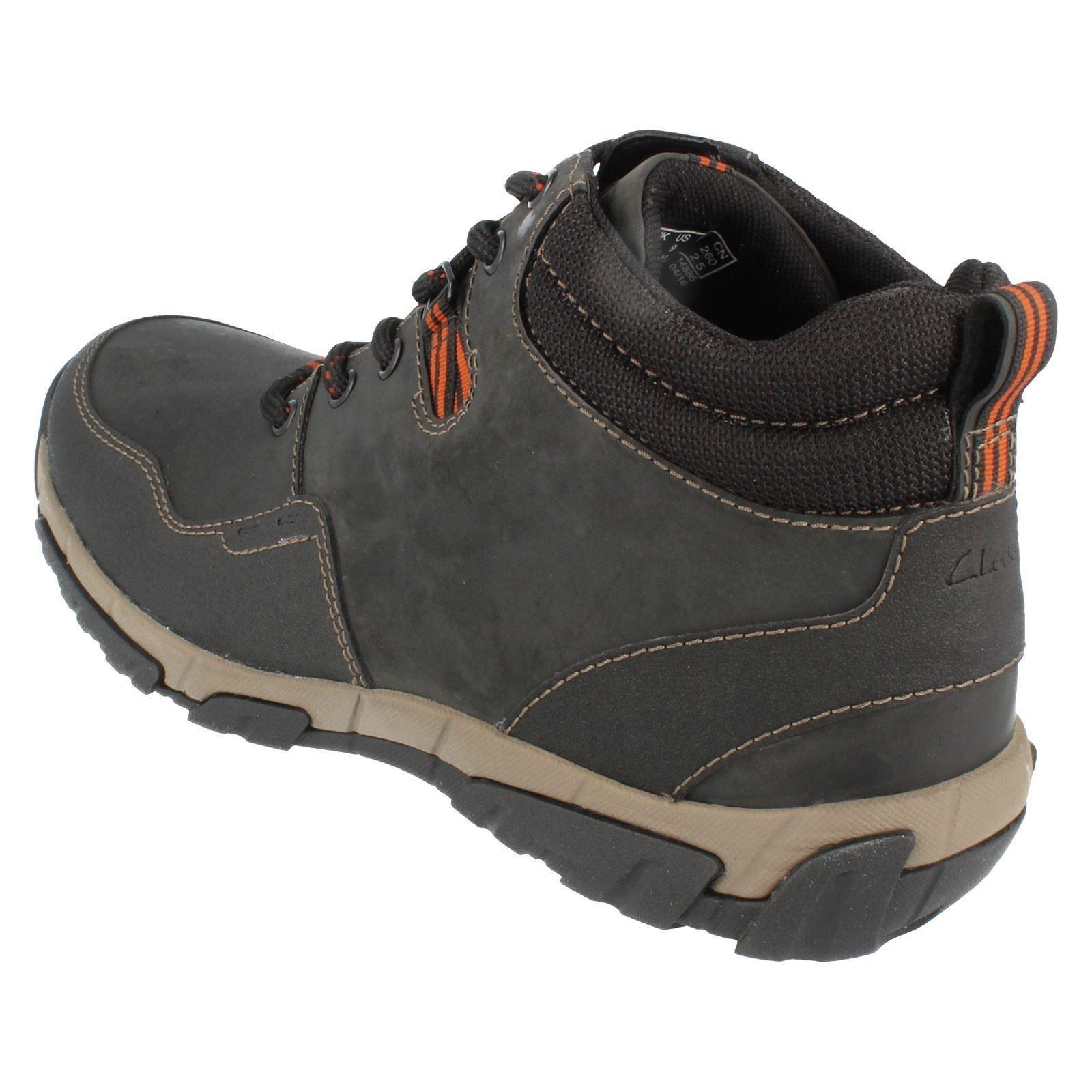 Mens Clarks Waterproof Boots Style Walbeck Top ~ N