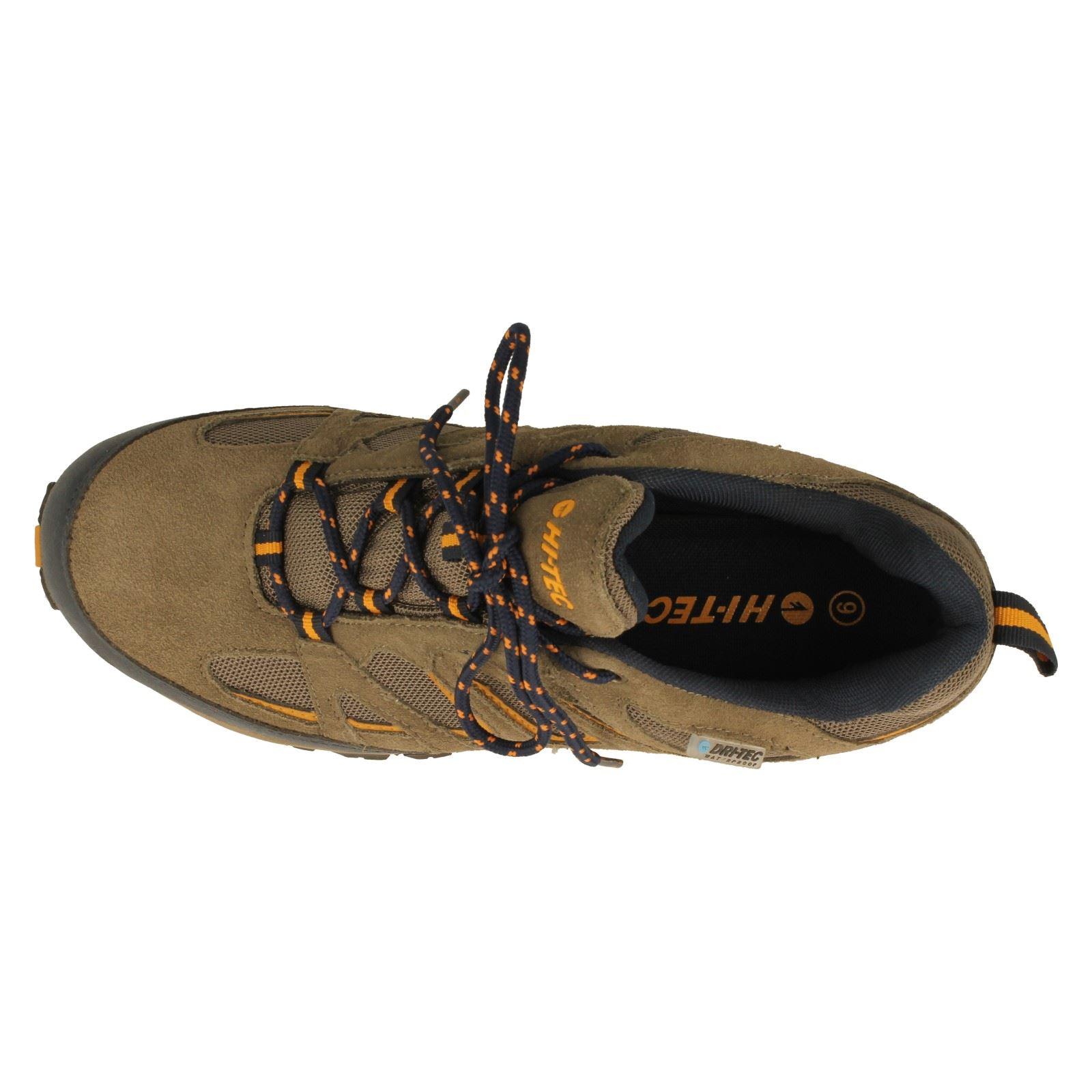 Mens Hi-Tec Waterproof Walking Shoes Label Fusion Sport Low -W