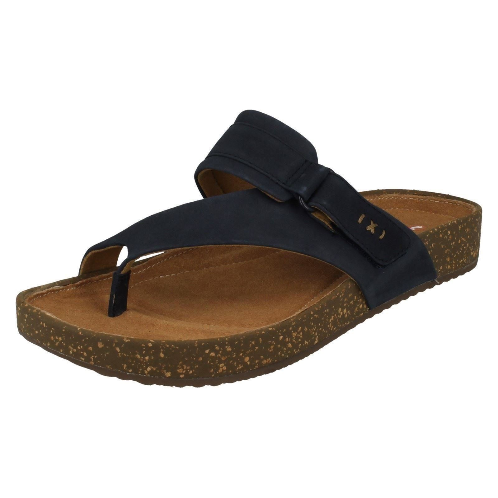 3582ccb18 Ladies Unstructured by Clarks Toe Post Mule Sandals The Style - Rosilla  Durham  Picture 2 of 7 ...