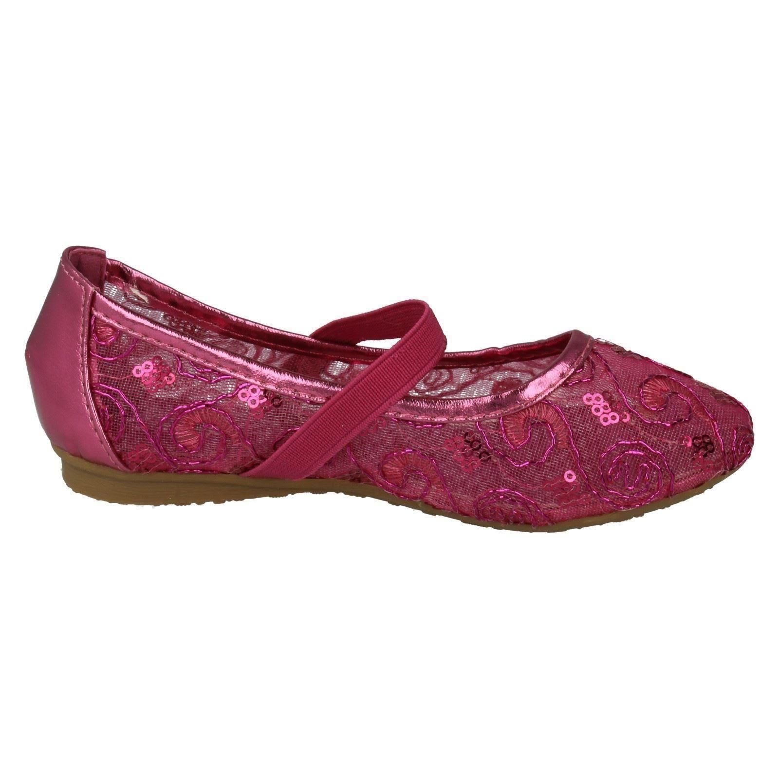 Girls Spot On Shoes Label H2302