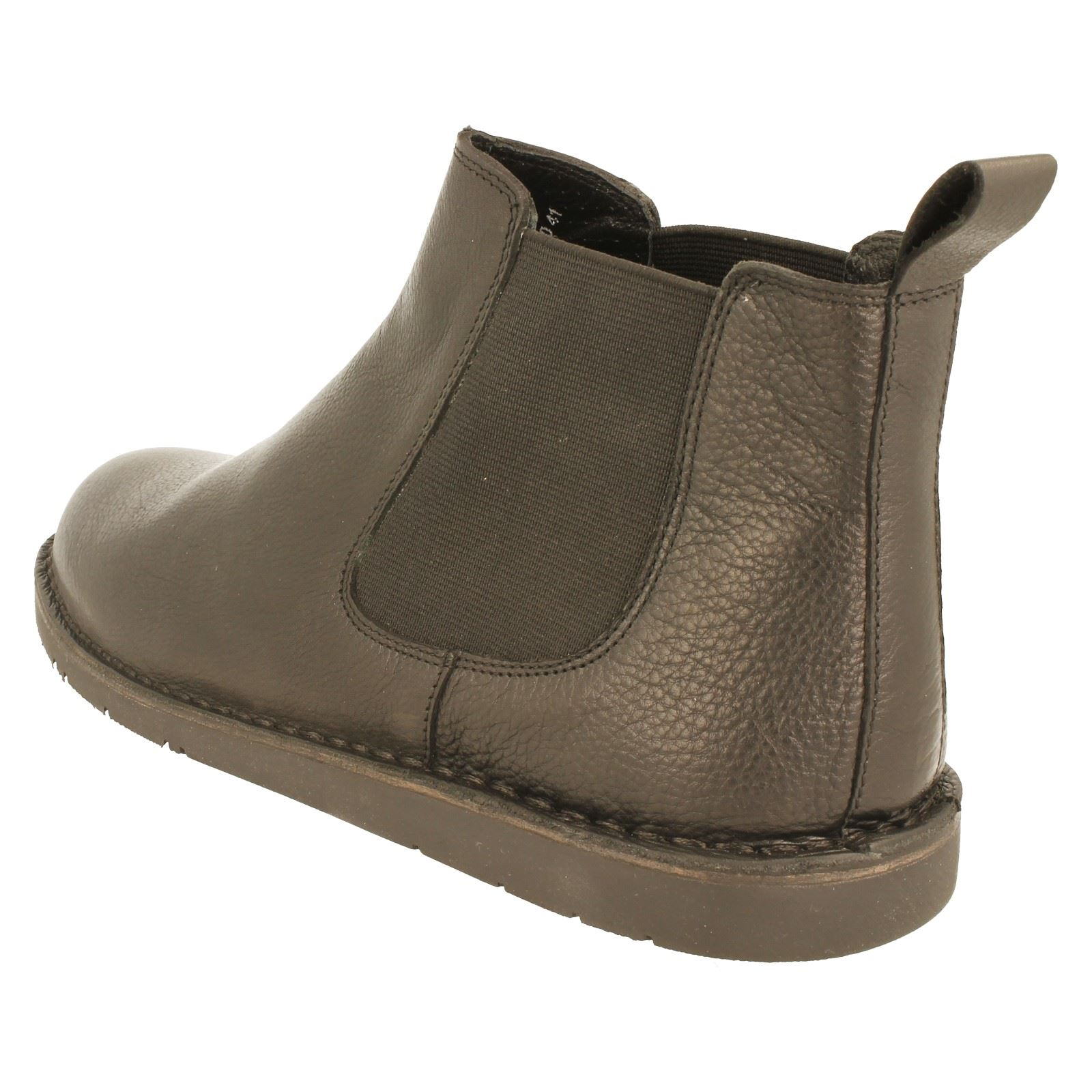 Mens Padders Wide Fitting Leather Chelsea Boot The Style - Jez