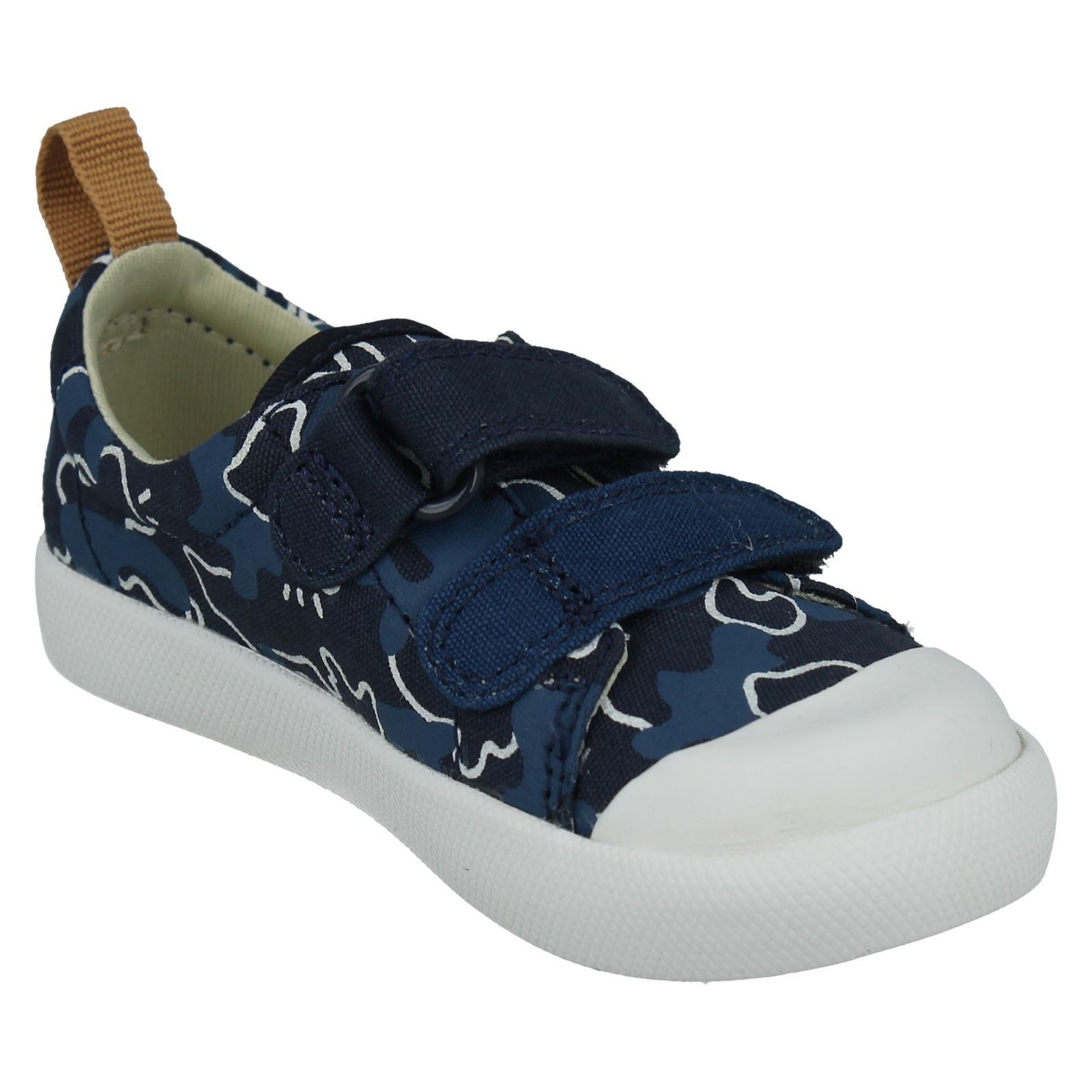 Boys Clarks Doodles First Shoes Halcy High