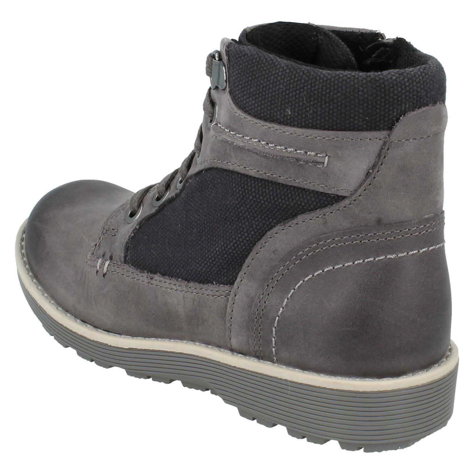 Boys Clarks Ankle Boots Style - Day Music