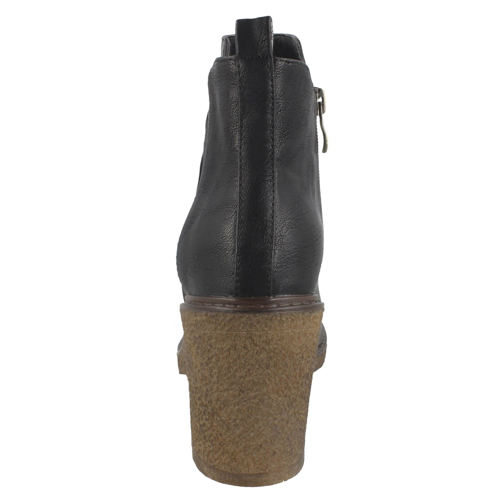 Femmes Down to to Down Earth Cheville Bottes Style-F5R0958 d35bf0