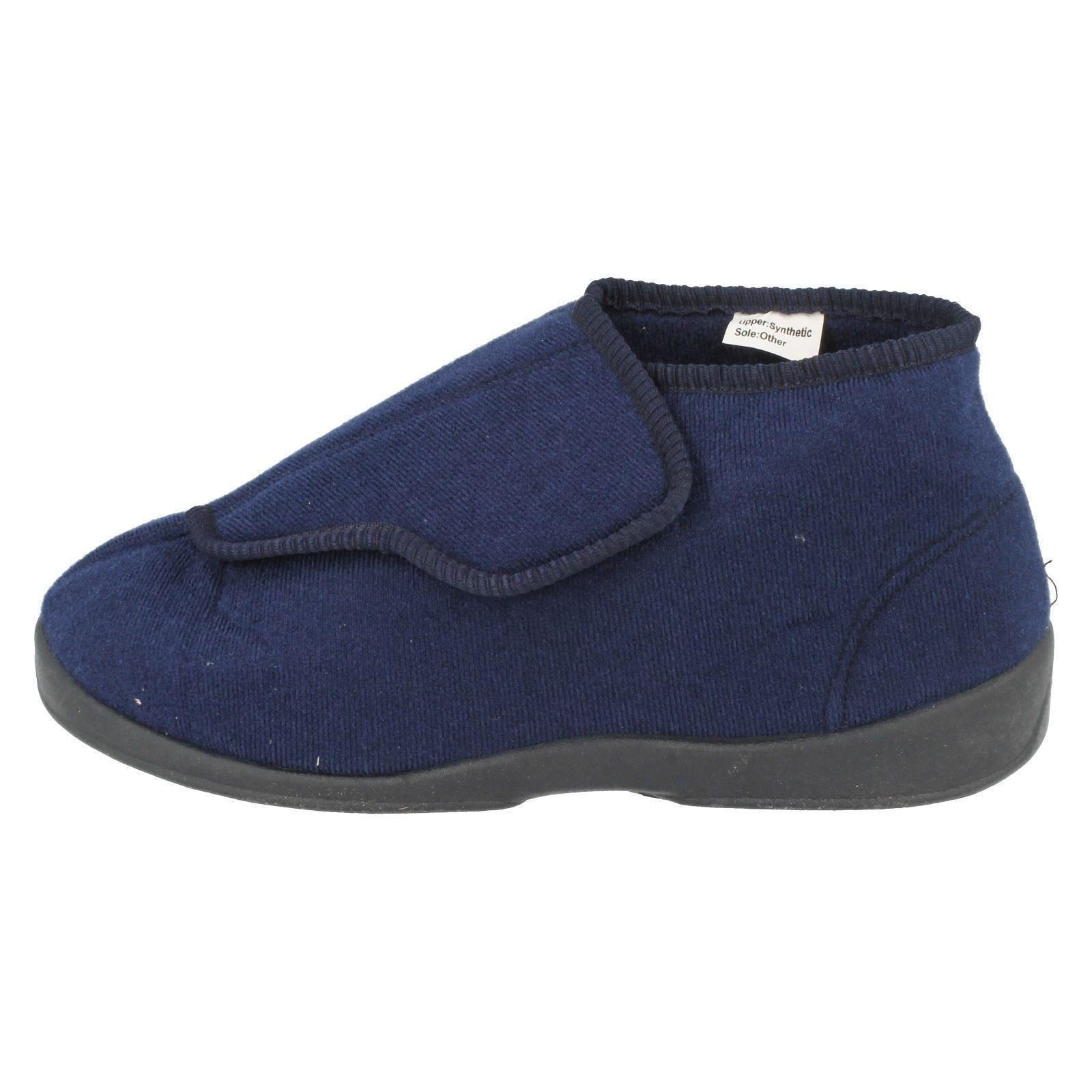 Mens-Natureform-Wide-Fitting-Boot-Slippers-039-Arthur-039-Style-K