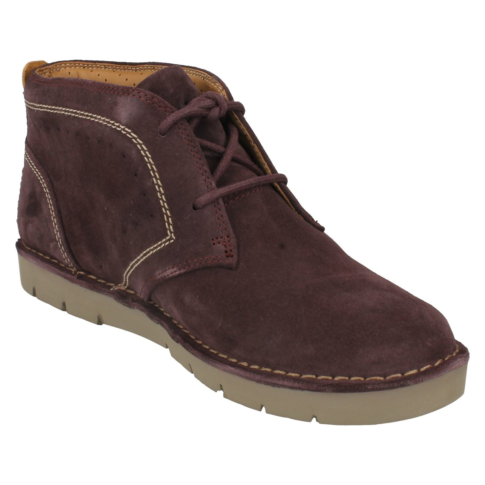 Ladies Clarks Casual Lace Up Boots Un Bstin