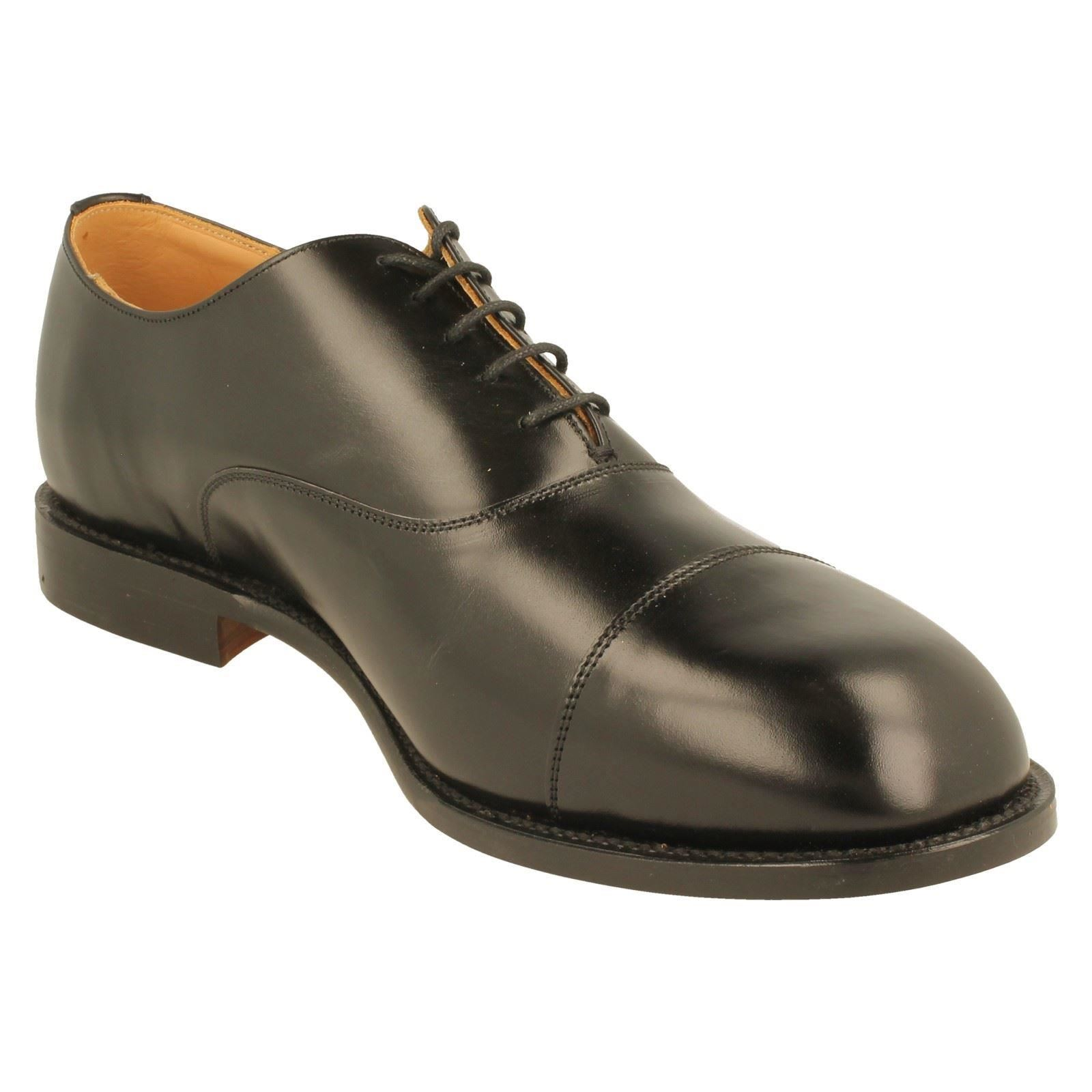 Herren DB Oxford Schuhes Wide Goodyear Welted  EE-4E Wide Schuhes Fitt The Label Ivor-W c7b3a9