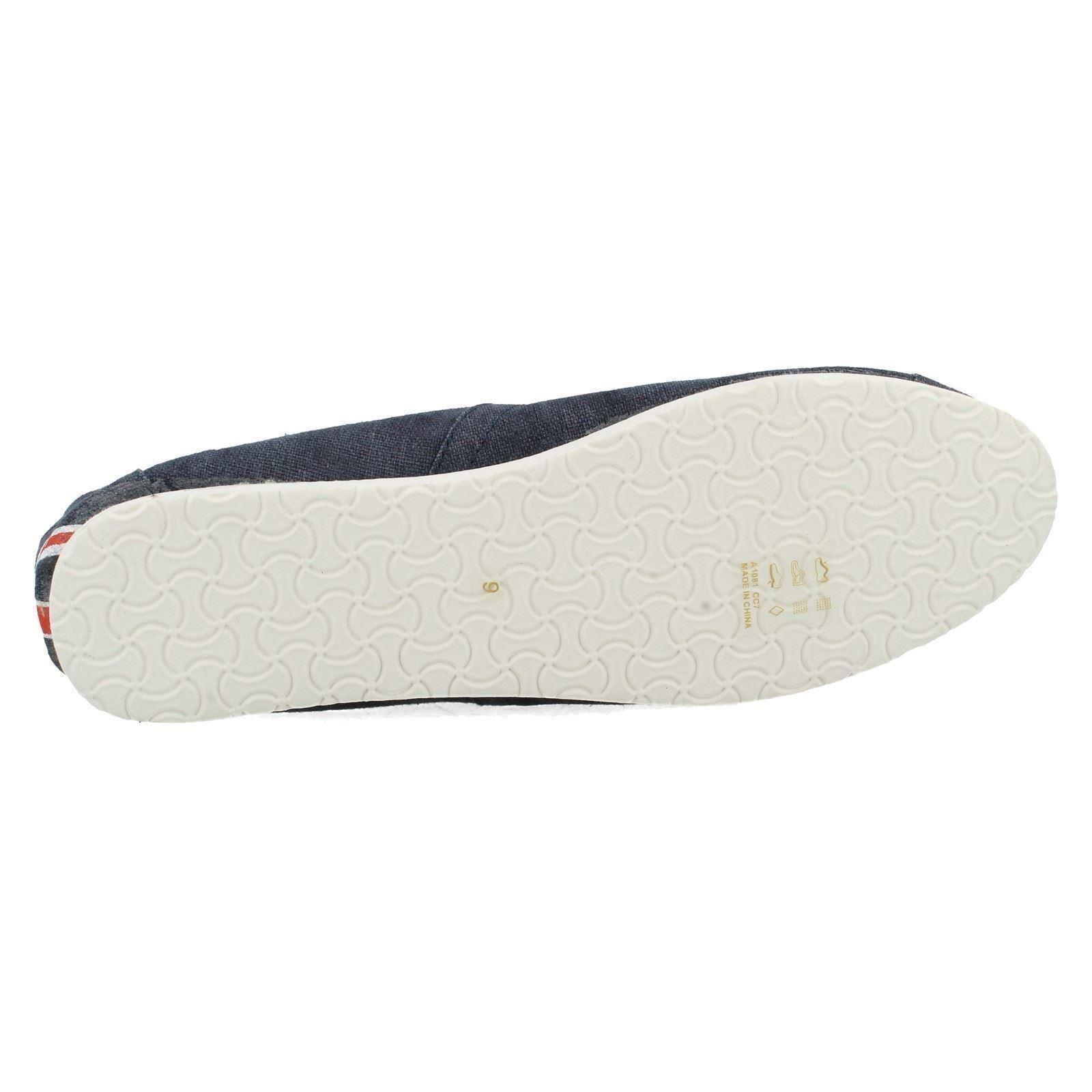 Para Hombre Punto en Zapatos de Lona Estilo-A1081