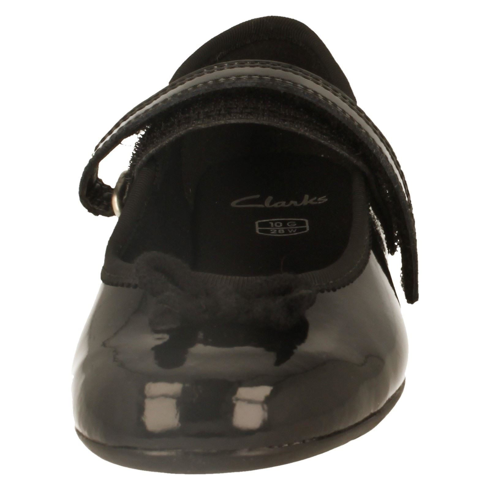 Girls Clarks Formal/School Shoes Style Dance Tune -W