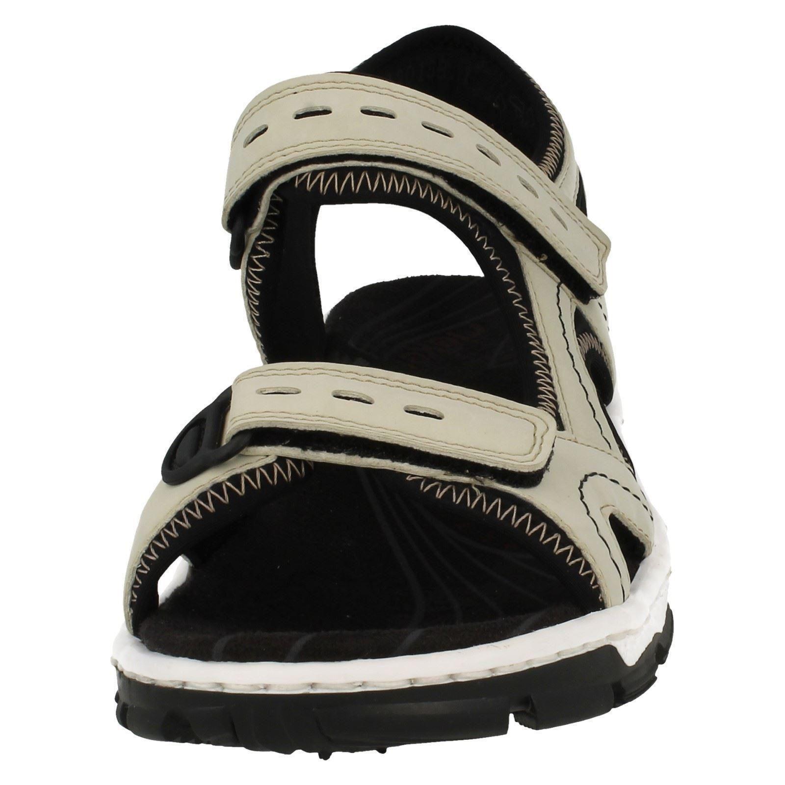 Damas Rieker sandles el estilo - 68866