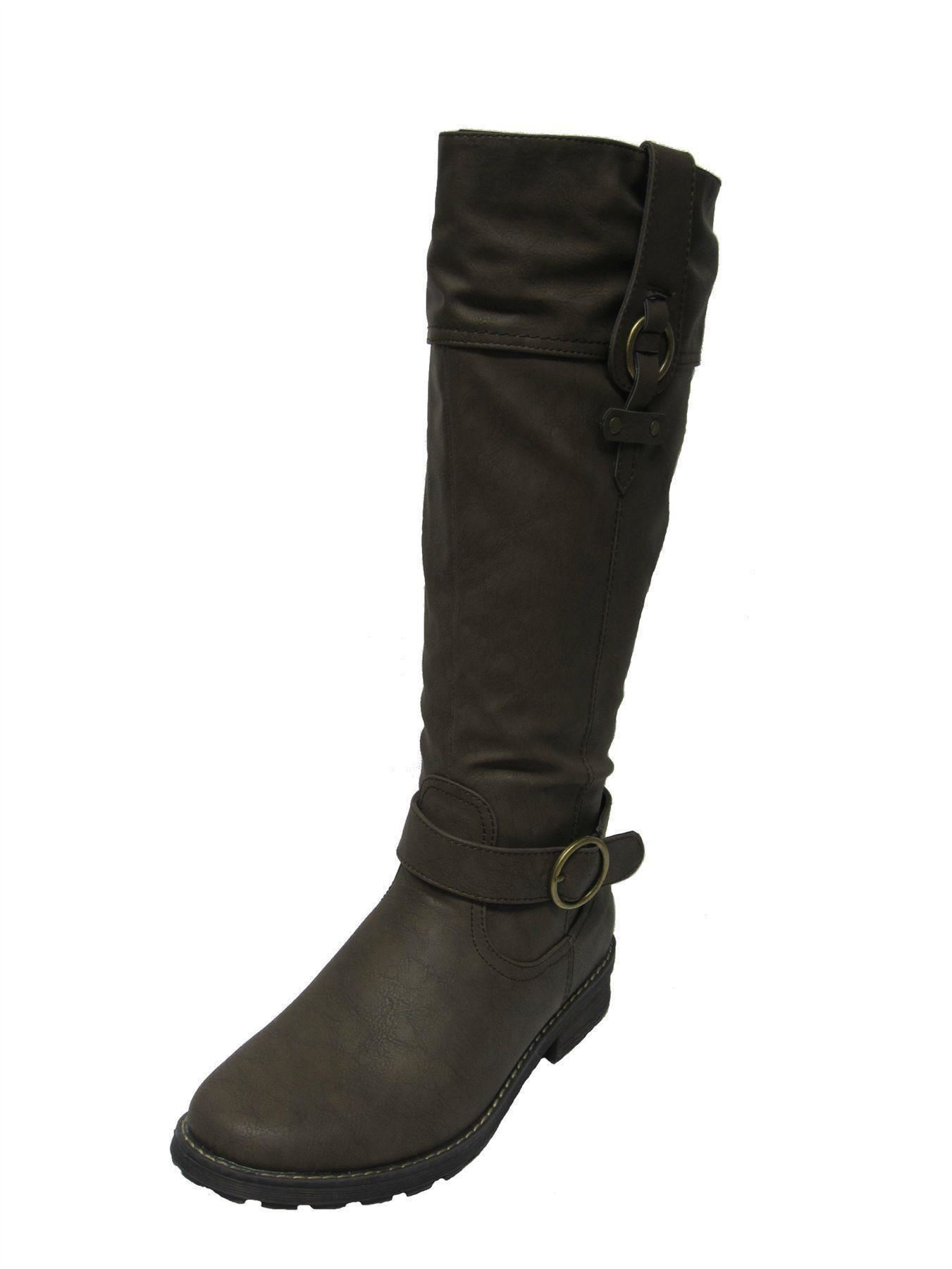 padders knee length boots label chicago w ebay