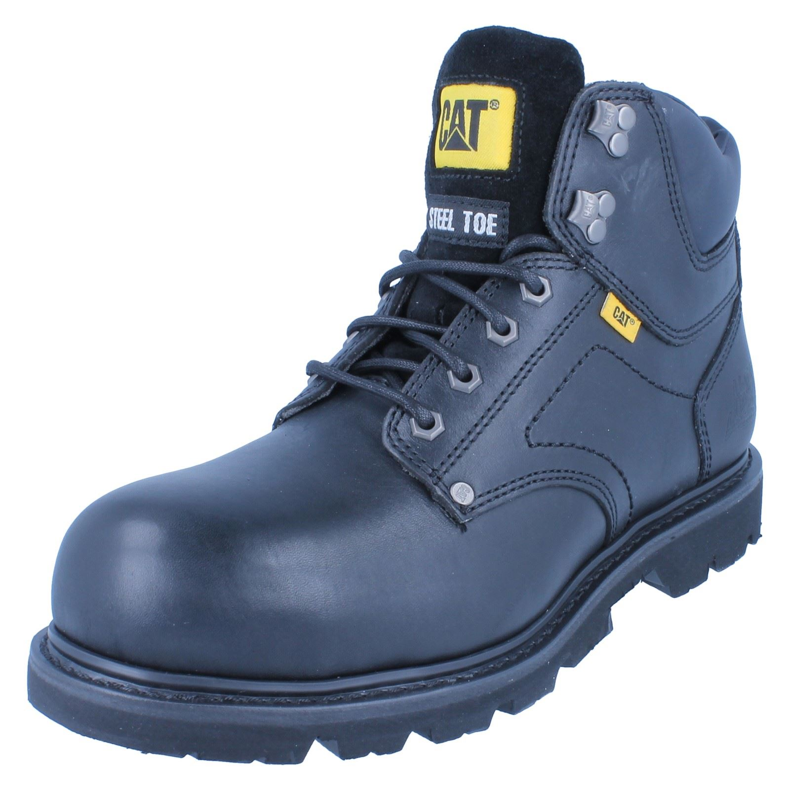Mens Caterpillar Steel ~ Toe Boots Grouser Style ~ Steel K ce2f2e