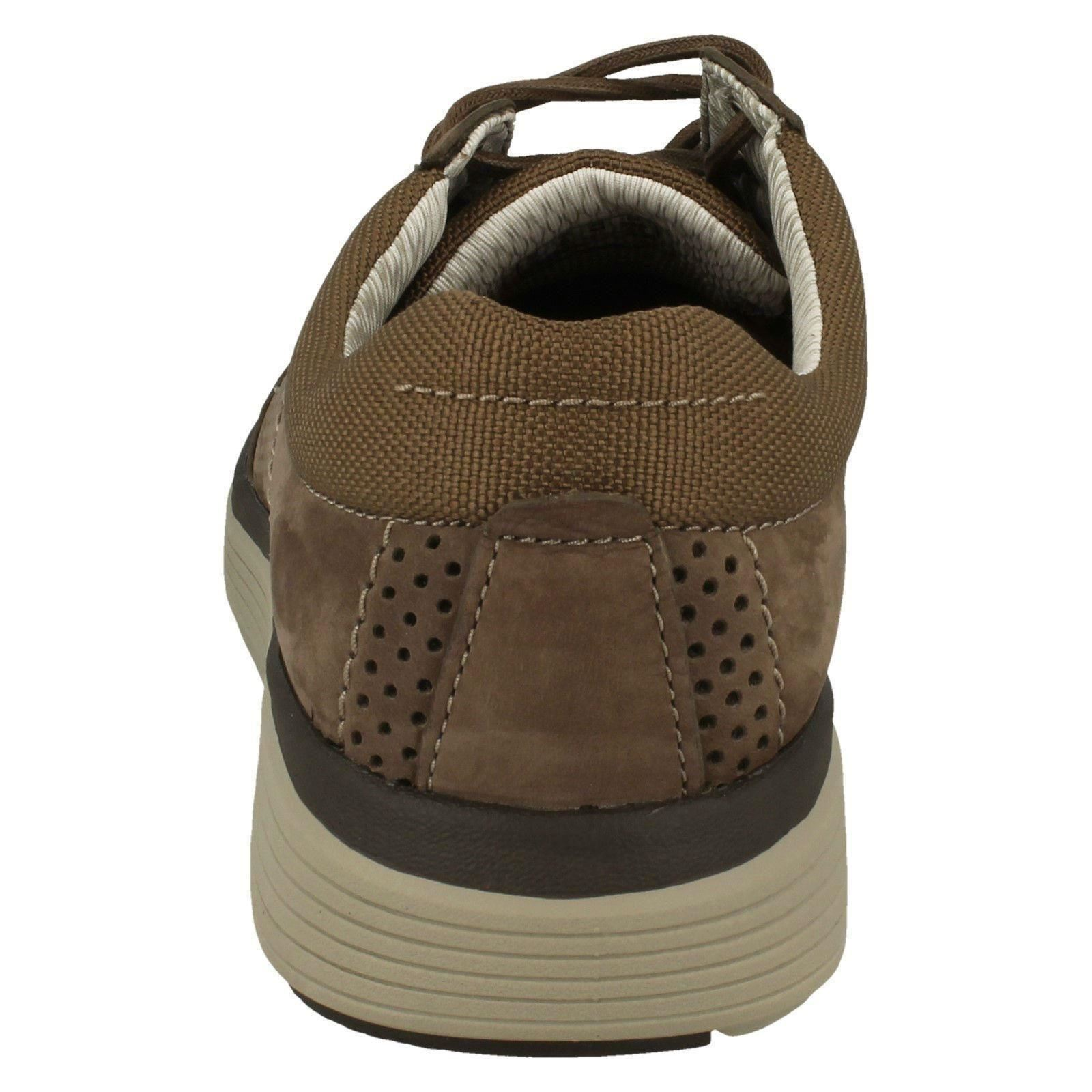 Shoes Unstructured Abode Up Clarks Casual Olive Lace Un Nubuck Label Men's By WYzSqcnpYd