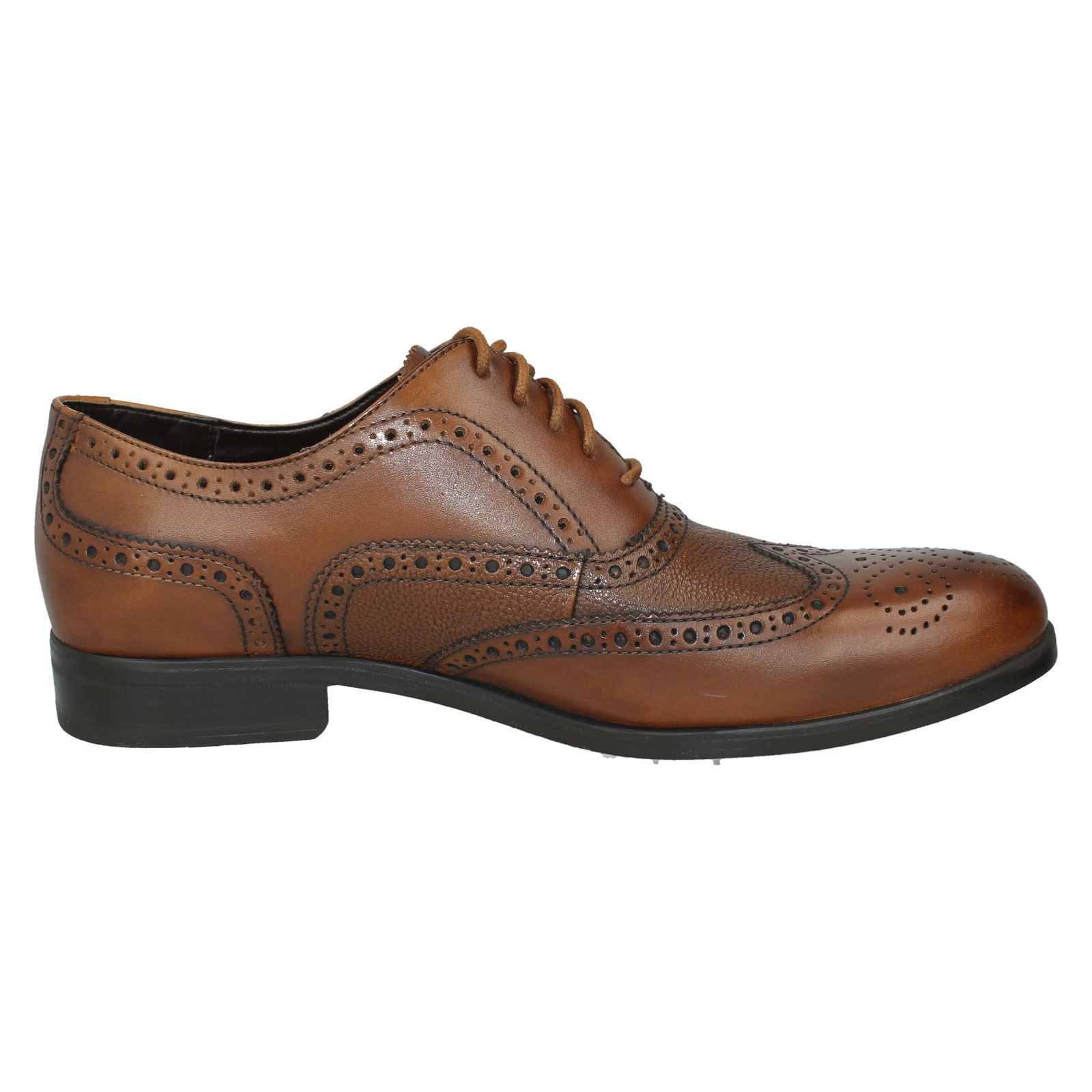 Men's Clarks Brogues Lace Up Formal  Shoes Style - Gilmore Limit