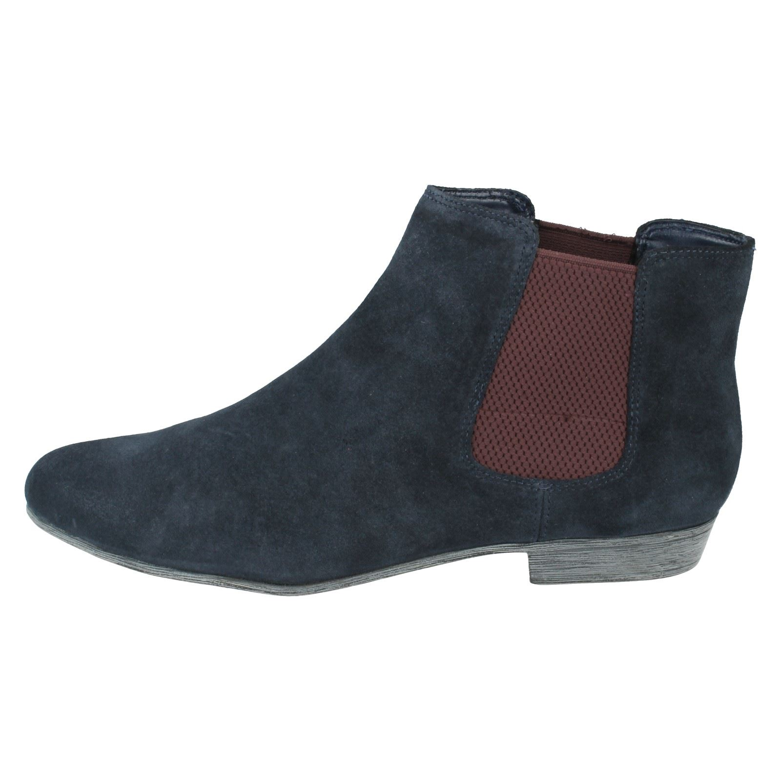 Ladies Clarks Ankle Boots Lolly Dawson