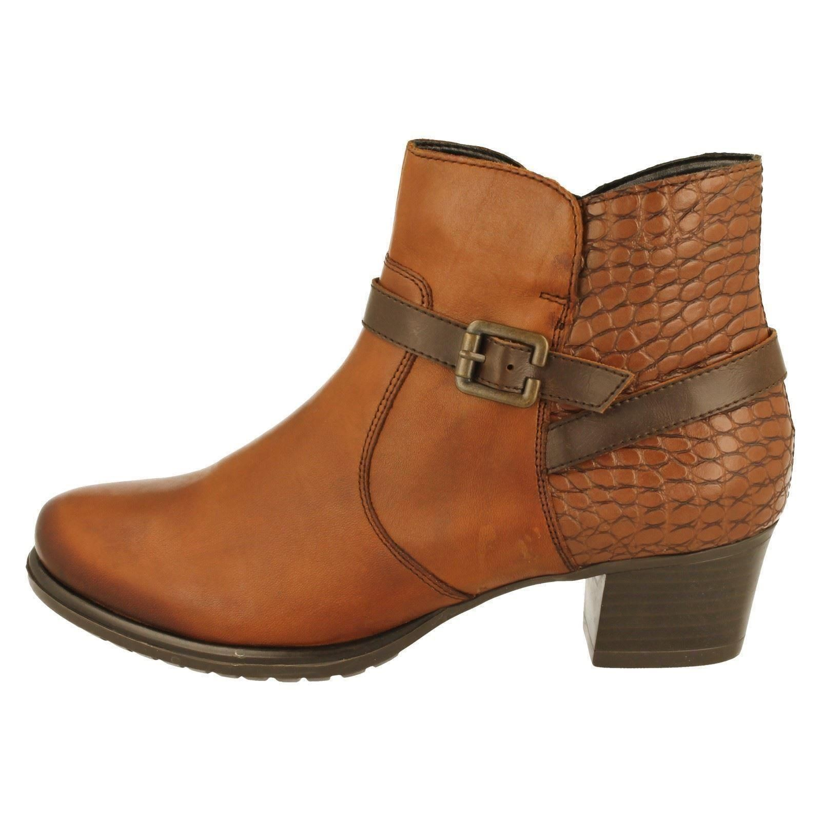 Boots Ladies Remonte The w Style D3186 Brown brown 6Hw7q